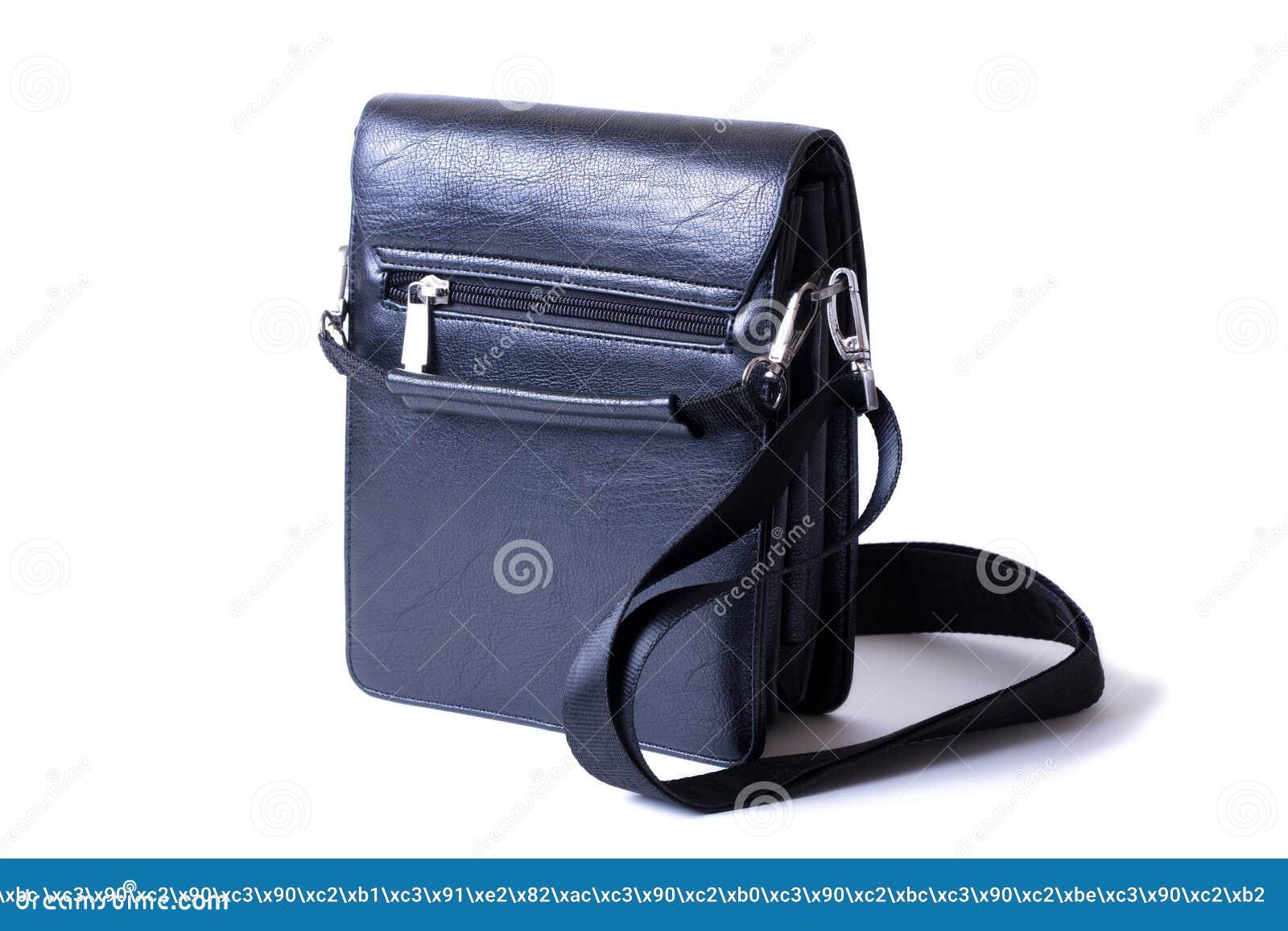Para estrenar 643e6 246a6 Bolso Del Negro Del ` S Del Hombre Muy Elegante Foto de ...