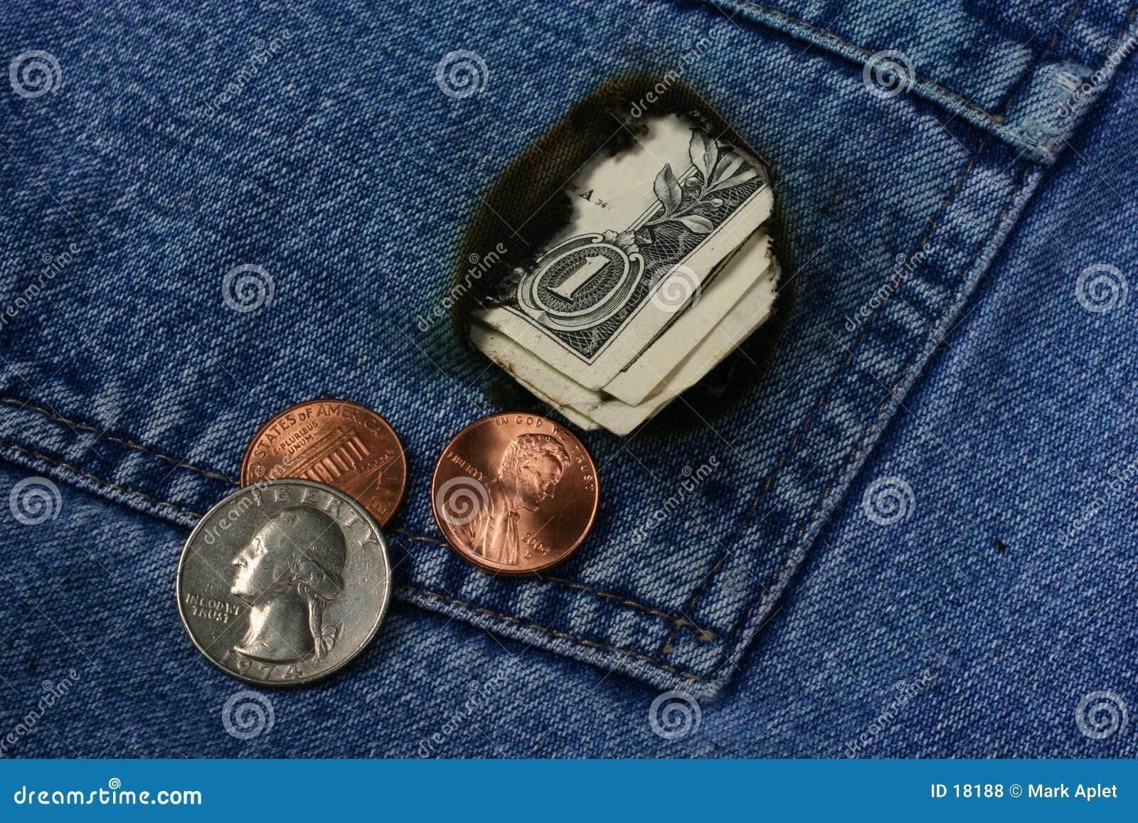 Bolso do dinheiro