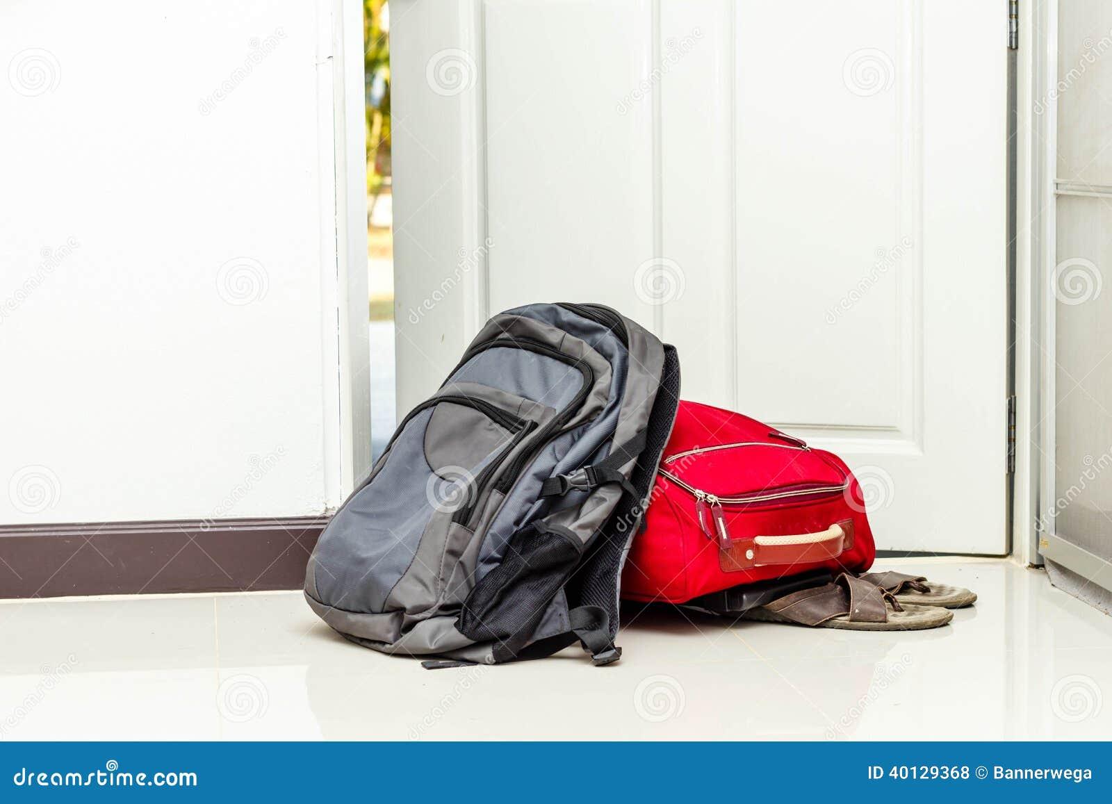 Bolso mochila viaje del y zapatos rojos ZvrnZxpR 6491943b2656b