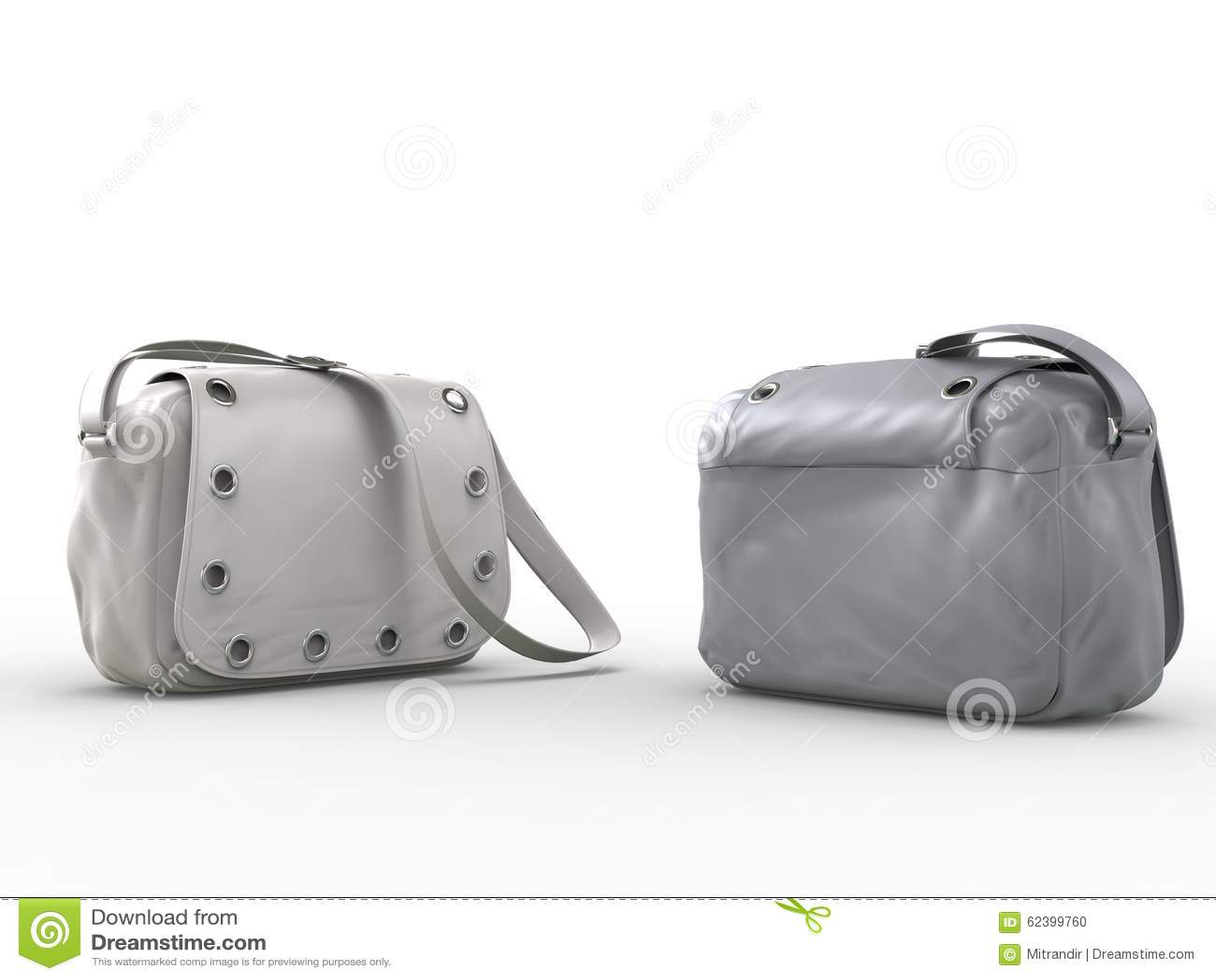 Bolsos grises