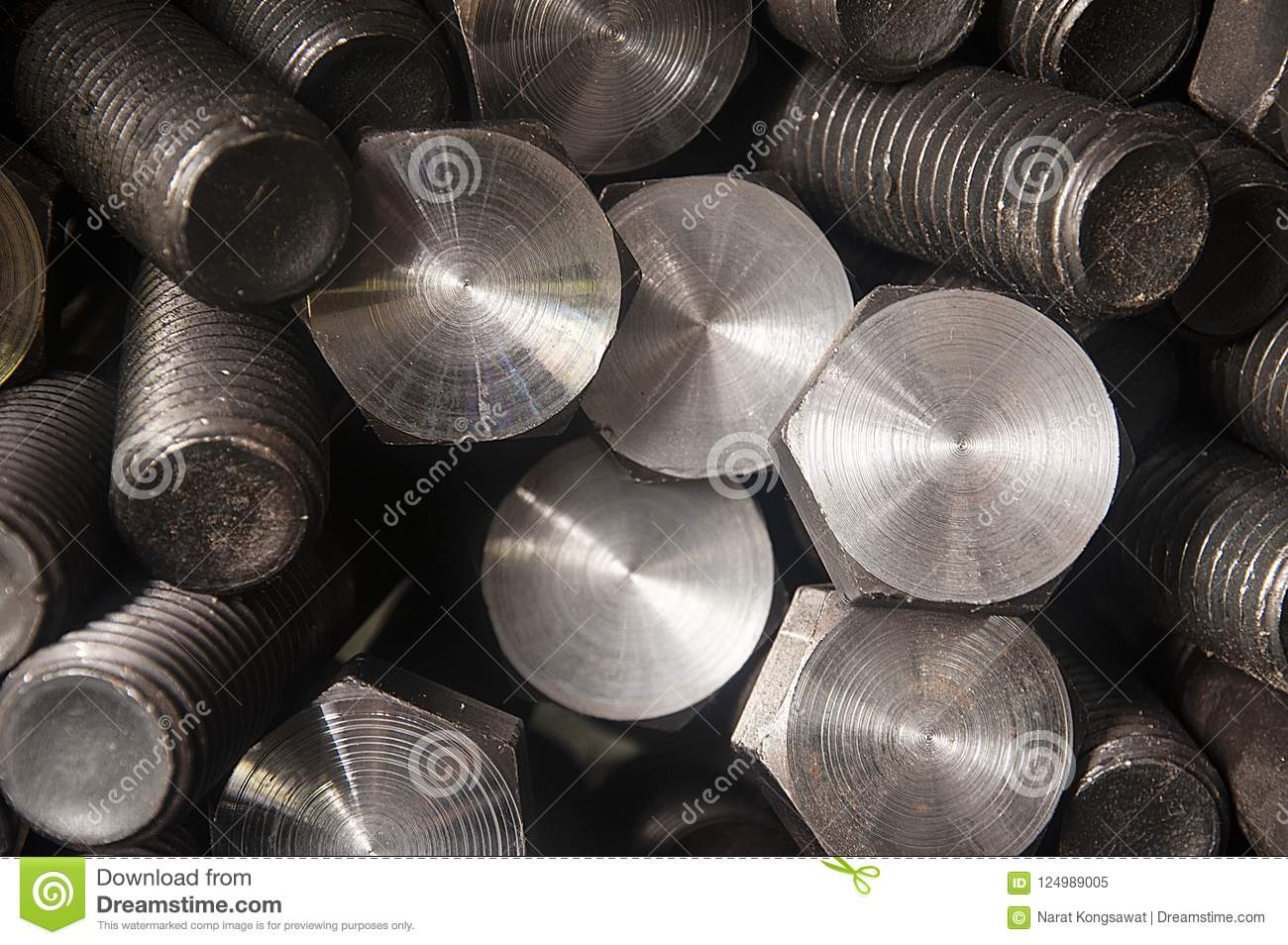 Bolt and nut production