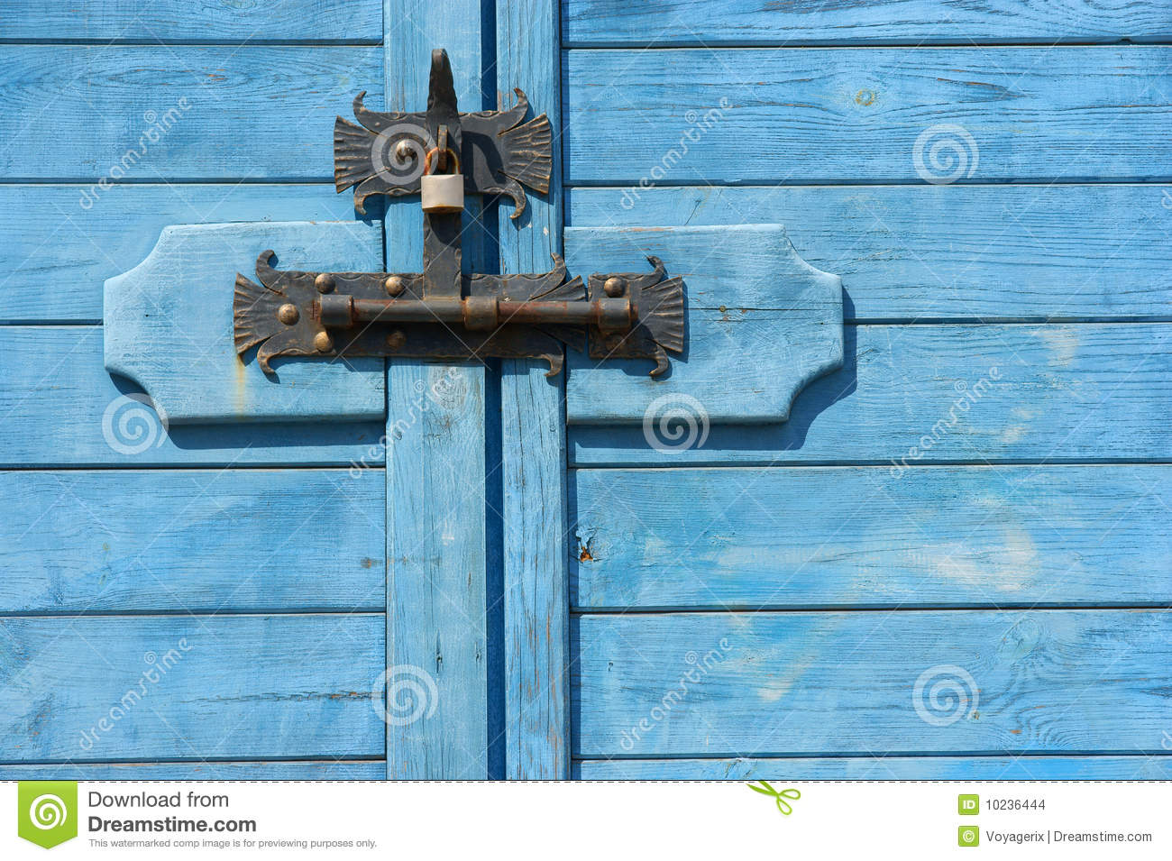 Bolted Shut Door Locked Stock Images Image 10236444