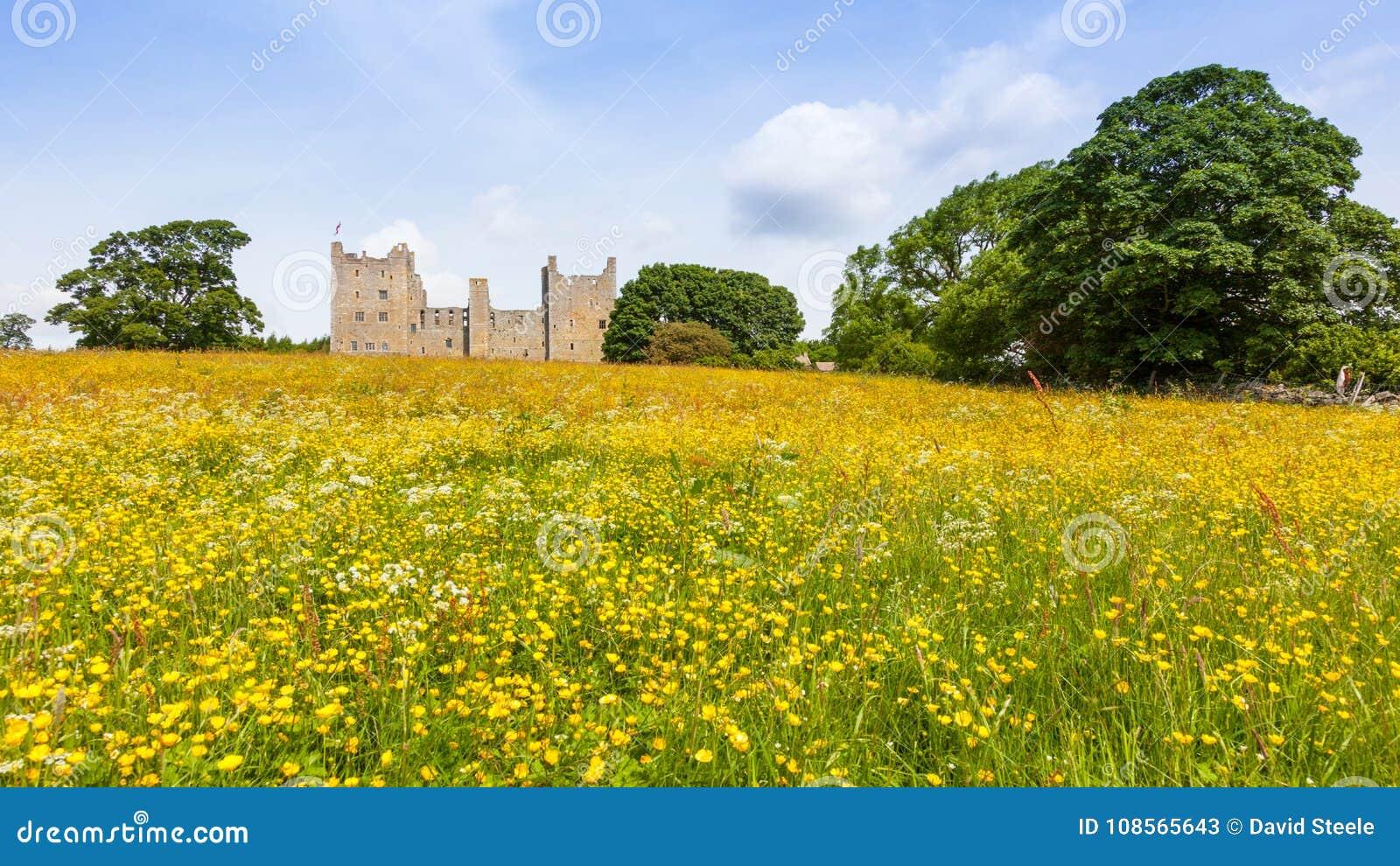 Bolton slott i North Yorkshire