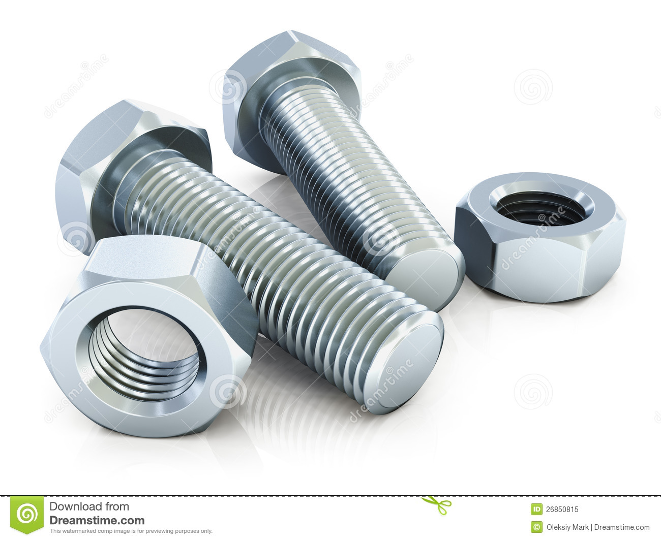 Pictures Of Nuts And Bolts >> Bolts And Nuts Royalty Free Stock Photo - Image: 26850815