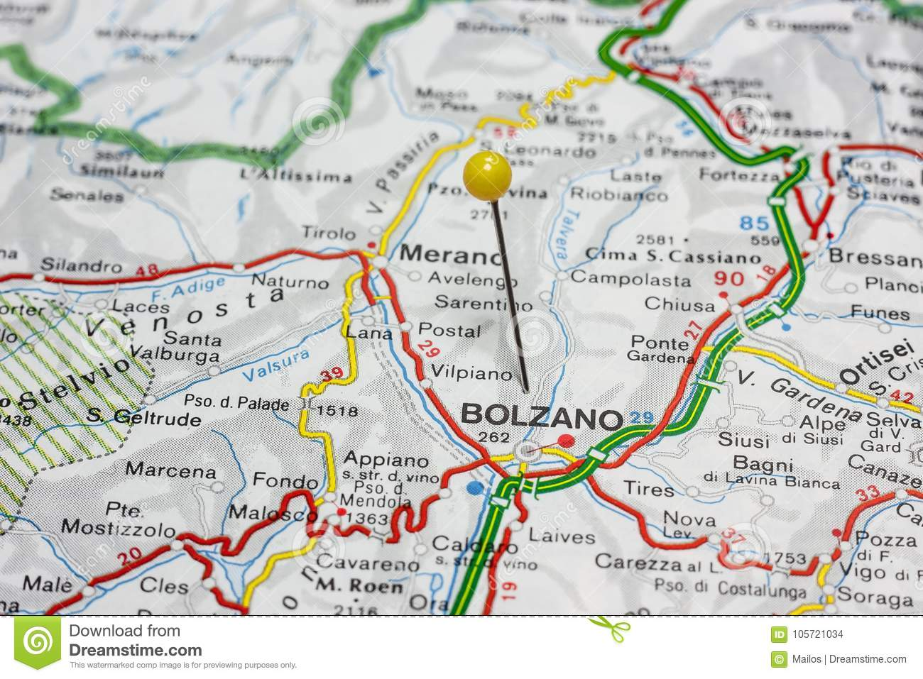Bolzano Pinned On A Map Of Italy Stock Photo - Image of travel ... on detailed map of positano italy, detailed map of lazio italy, detailed map of texas cities, detailed map of northern italy, detailed map southern italy, detailed map of calabria italy, all of italy maps with cities, detailed map of italy print, italy and cities, detailed map of tuscany italy, detailed map of massachusetts cities, detailed map florence italy, detailed map of africa, detailed map asia, detailed map of southern spain, detailed map venice italy,