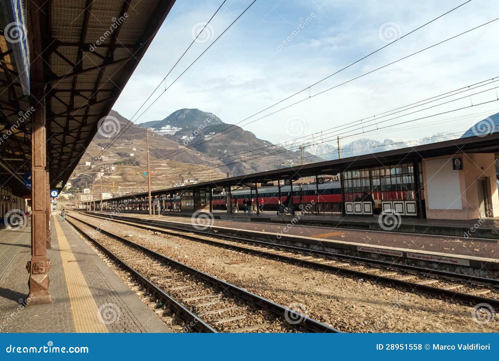 Bolzano stacja kolejowa
