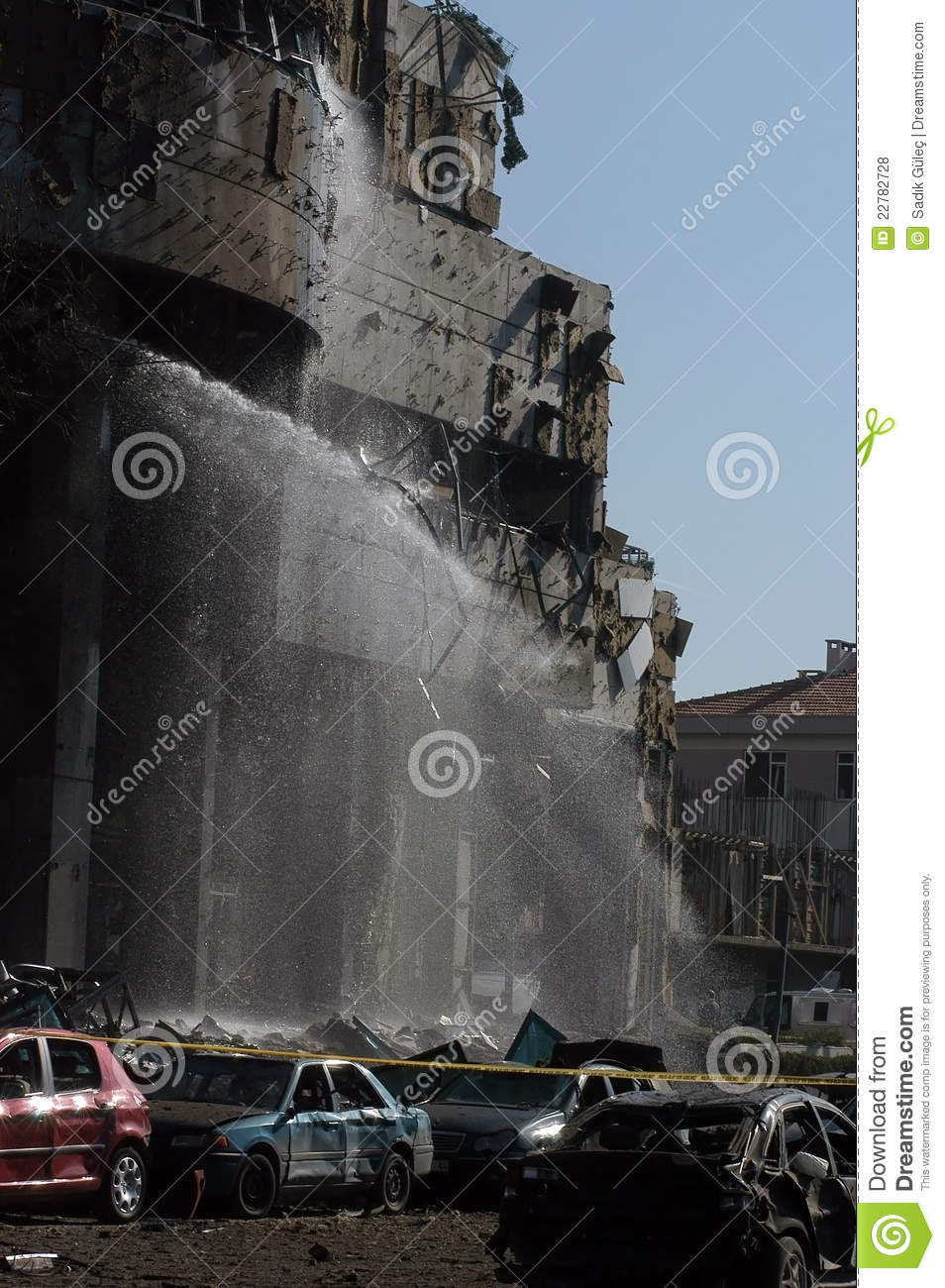 Bomb Attacks On The HSBC Bank Editorial Stock Photo - Image of