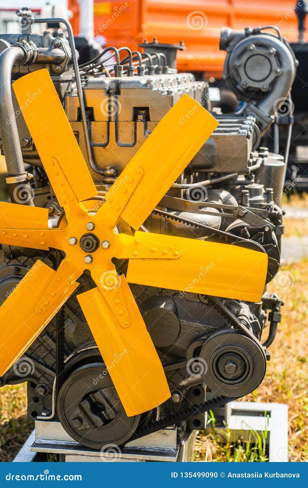 Bomba do metal, motor, peças para a maquinaria agrícola