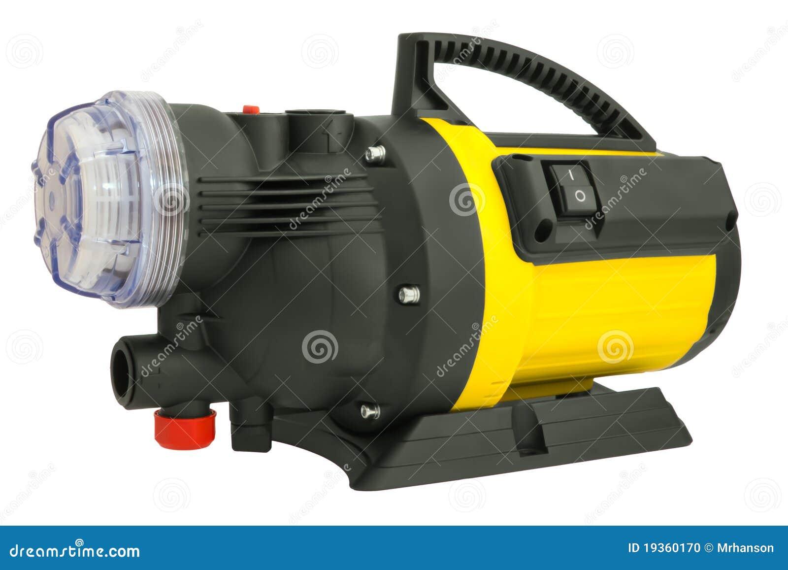 Bomba elétrica para a irrigação