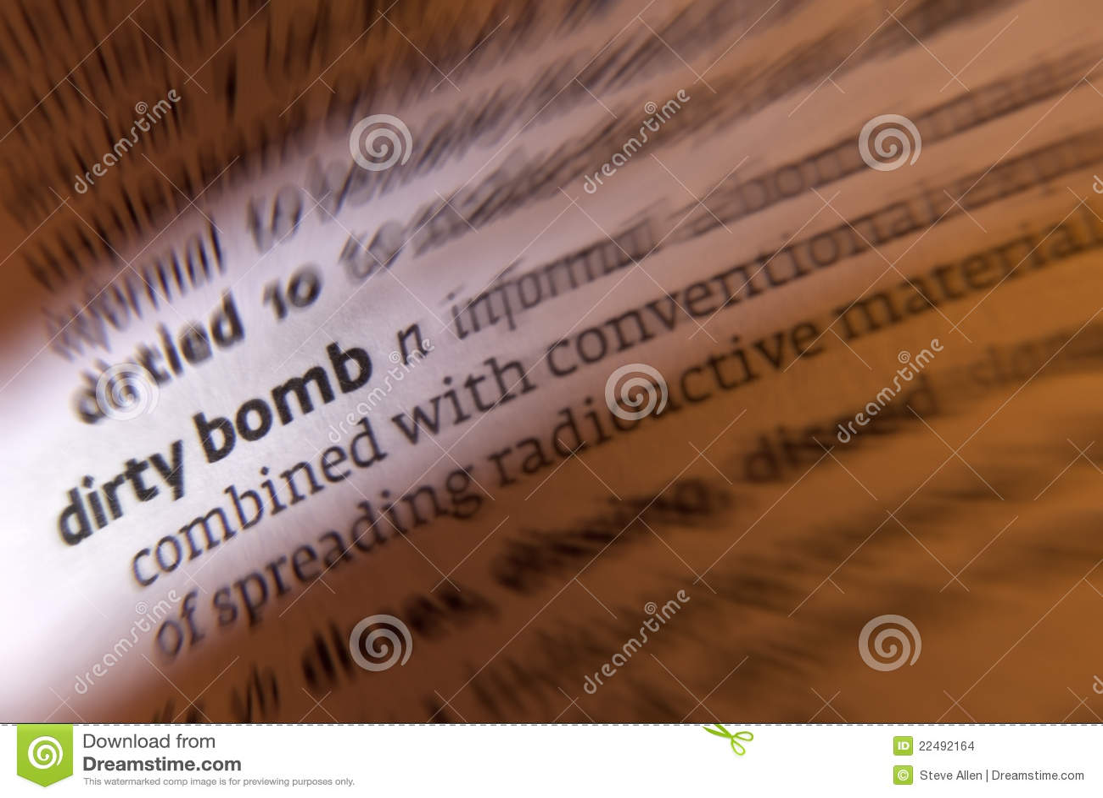Bomba sporca - terrorismo