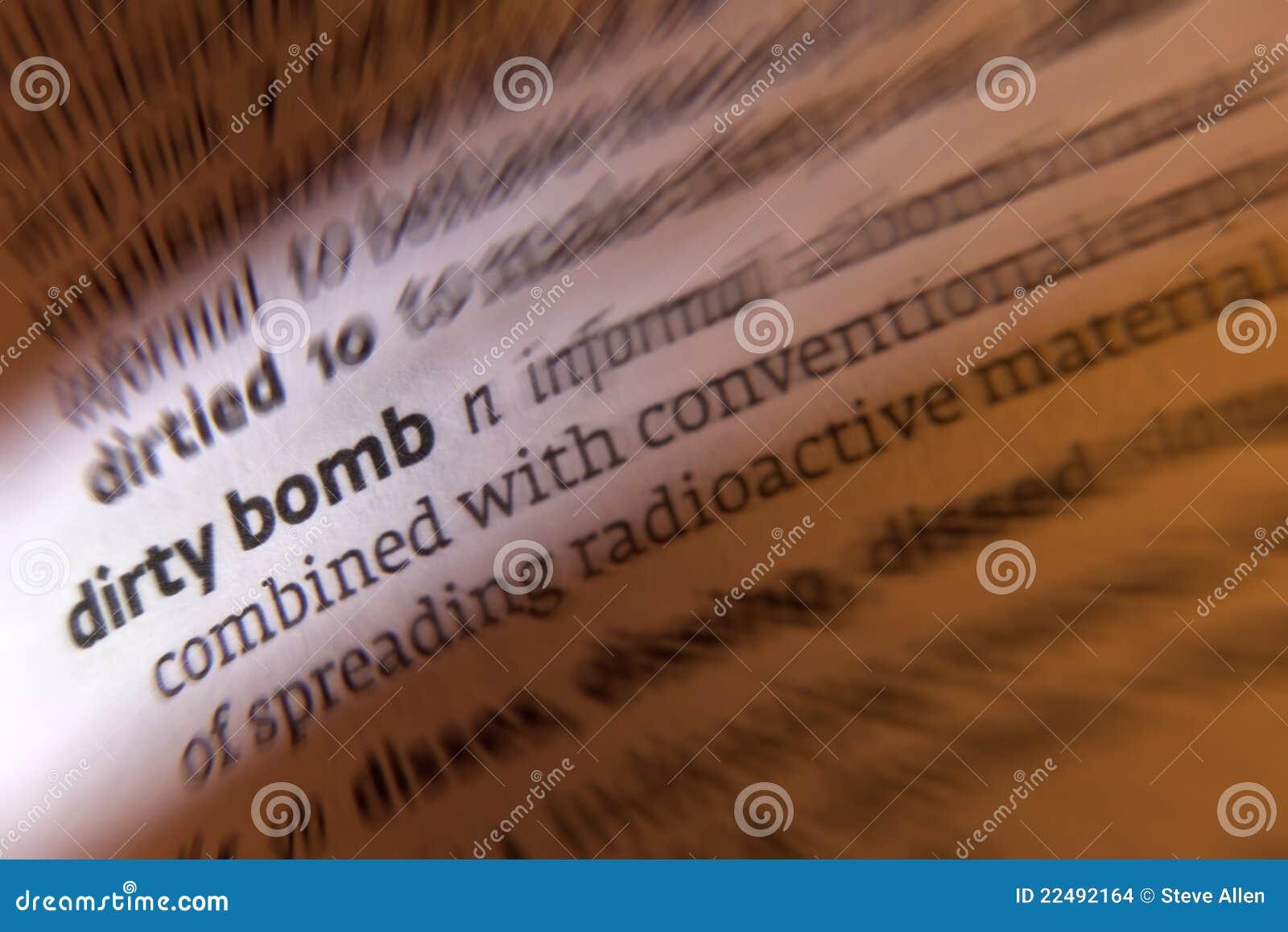 Bomba sucia - terrorismo