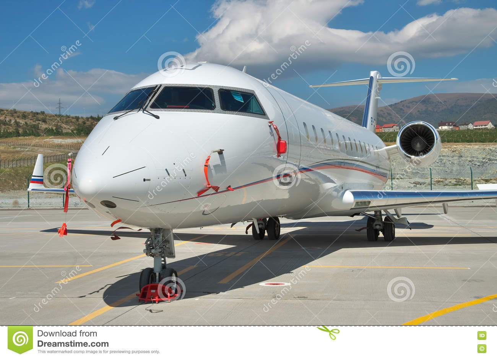 Gelendzhik Russia  city photos gallery : Gelendzhik, Russia September 10, 2010: Bombardier Canadair CRJ 200 ...