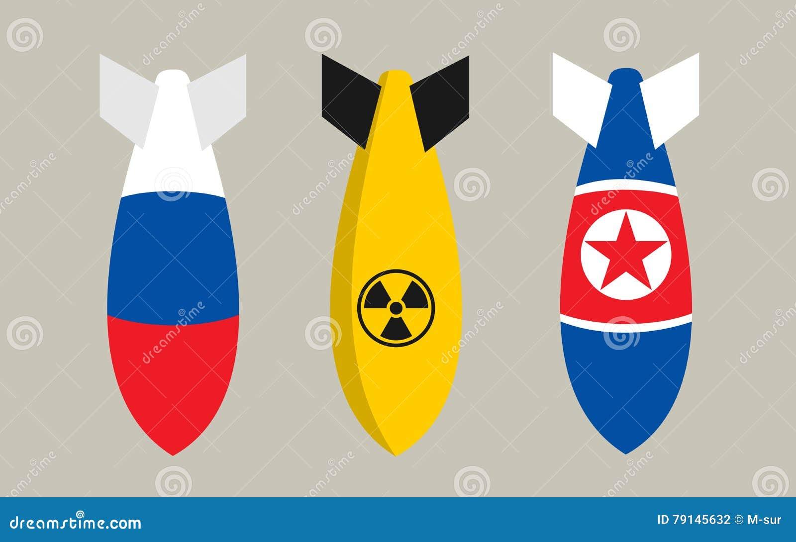 Bombas de Rusia, de Corea del Norte y de la bomba nuclear