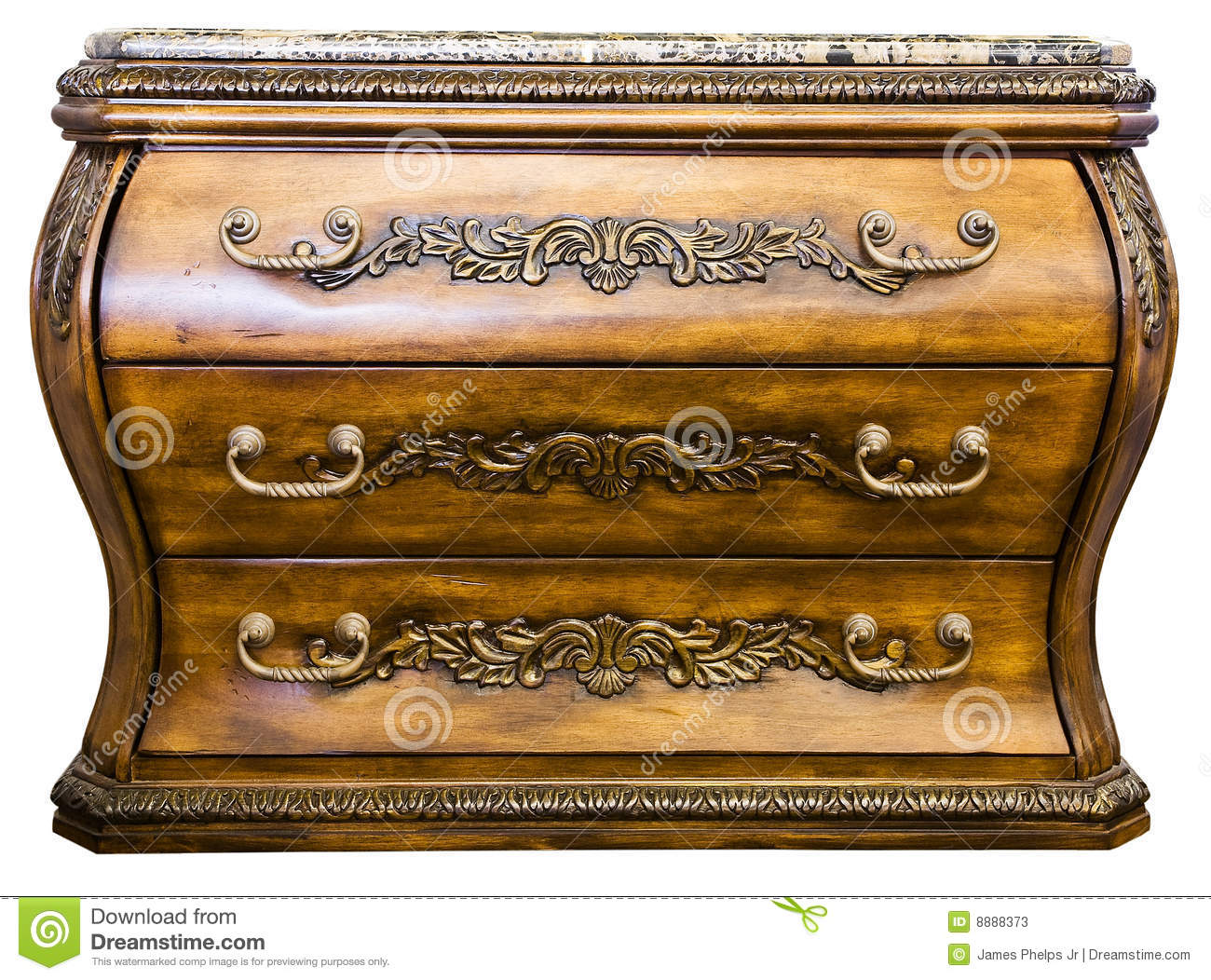 Bombay accent chest of drawers stock image