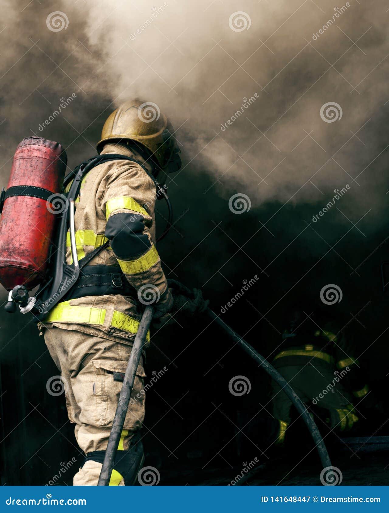 Bombero Hot Fire Training Dublín 2
