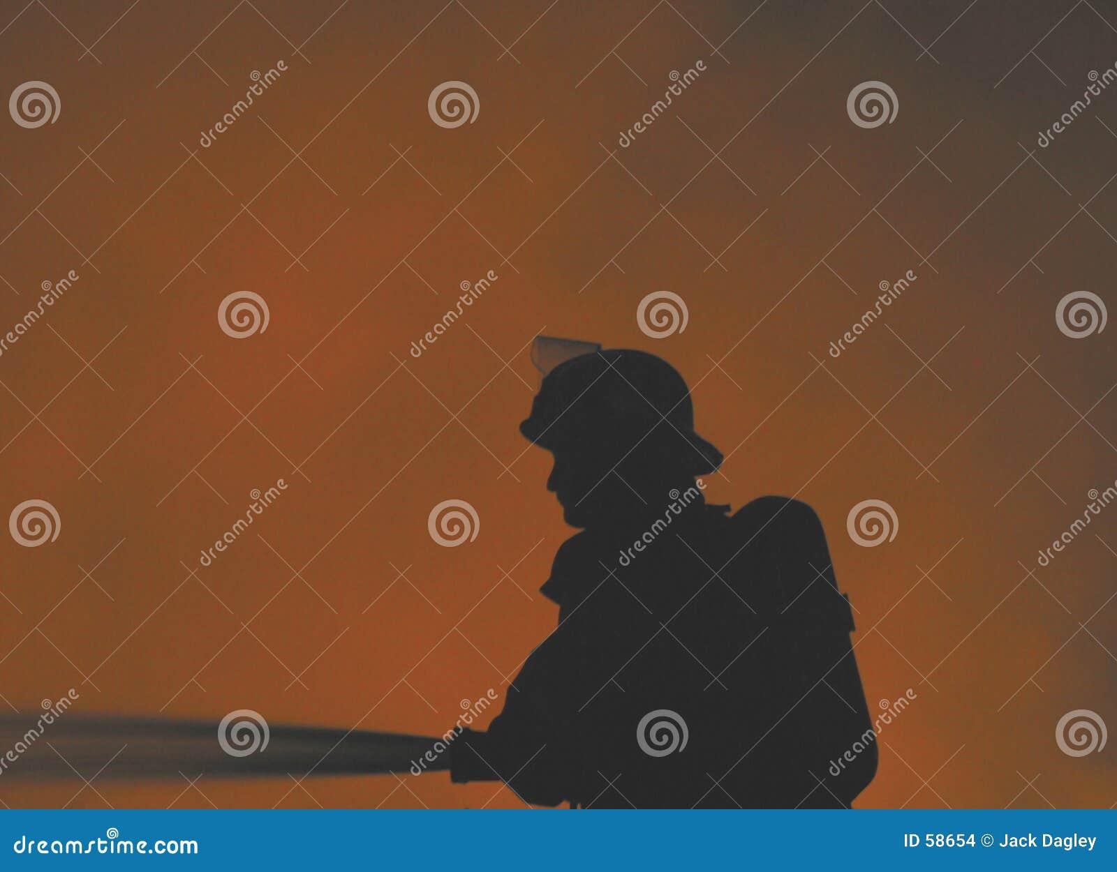 Bombero solitario