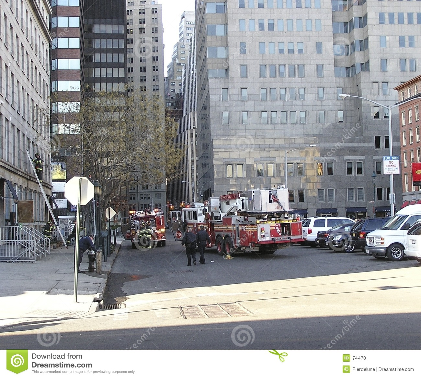 Bomberos de Nueva York en la acción