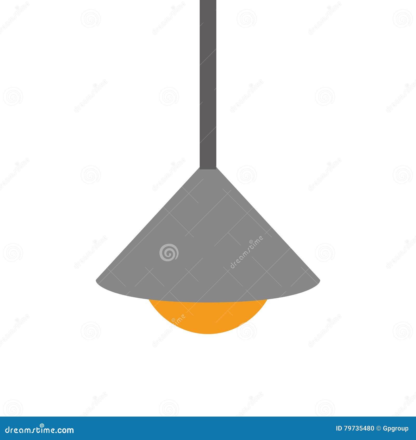 Bombillas grises que cuelgan con la base