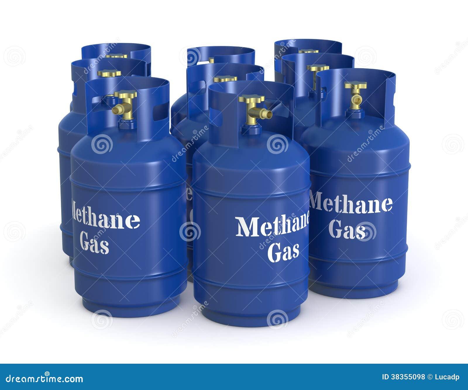 Bombole a gas del metano illustrazione di stock for Bombole gas campeggio prezzi