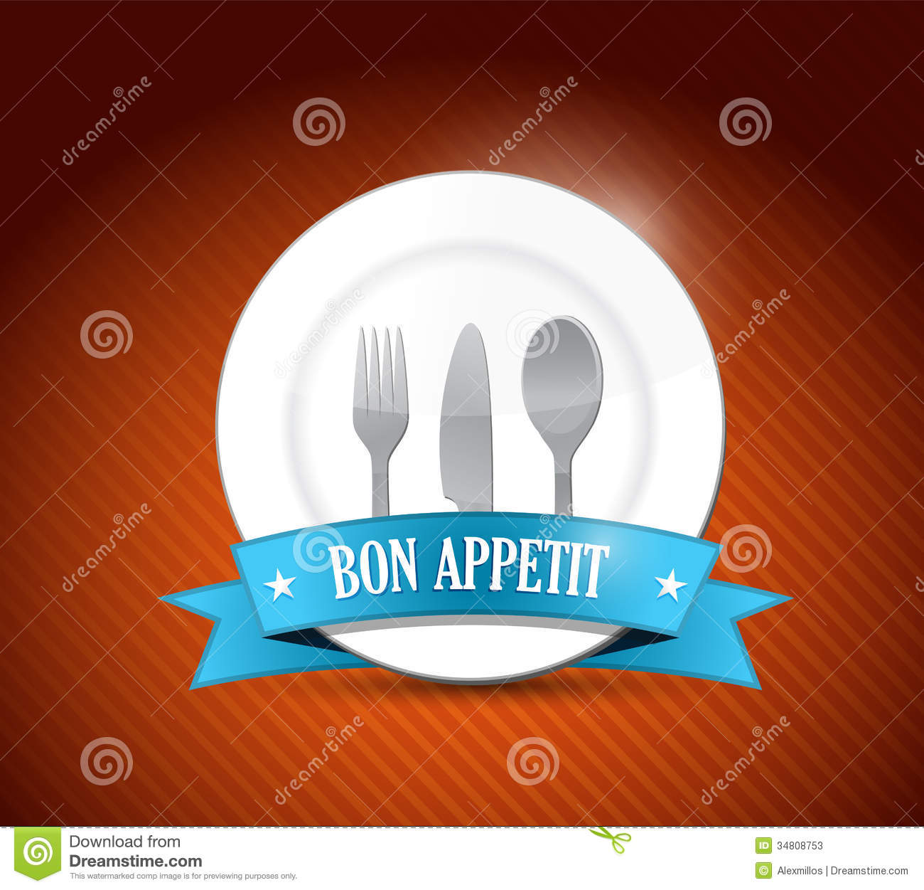 bon appetit restaurant design illustration design stock photos image 34808753. Black Bedroom Furniture Sets. Home Design Ideas