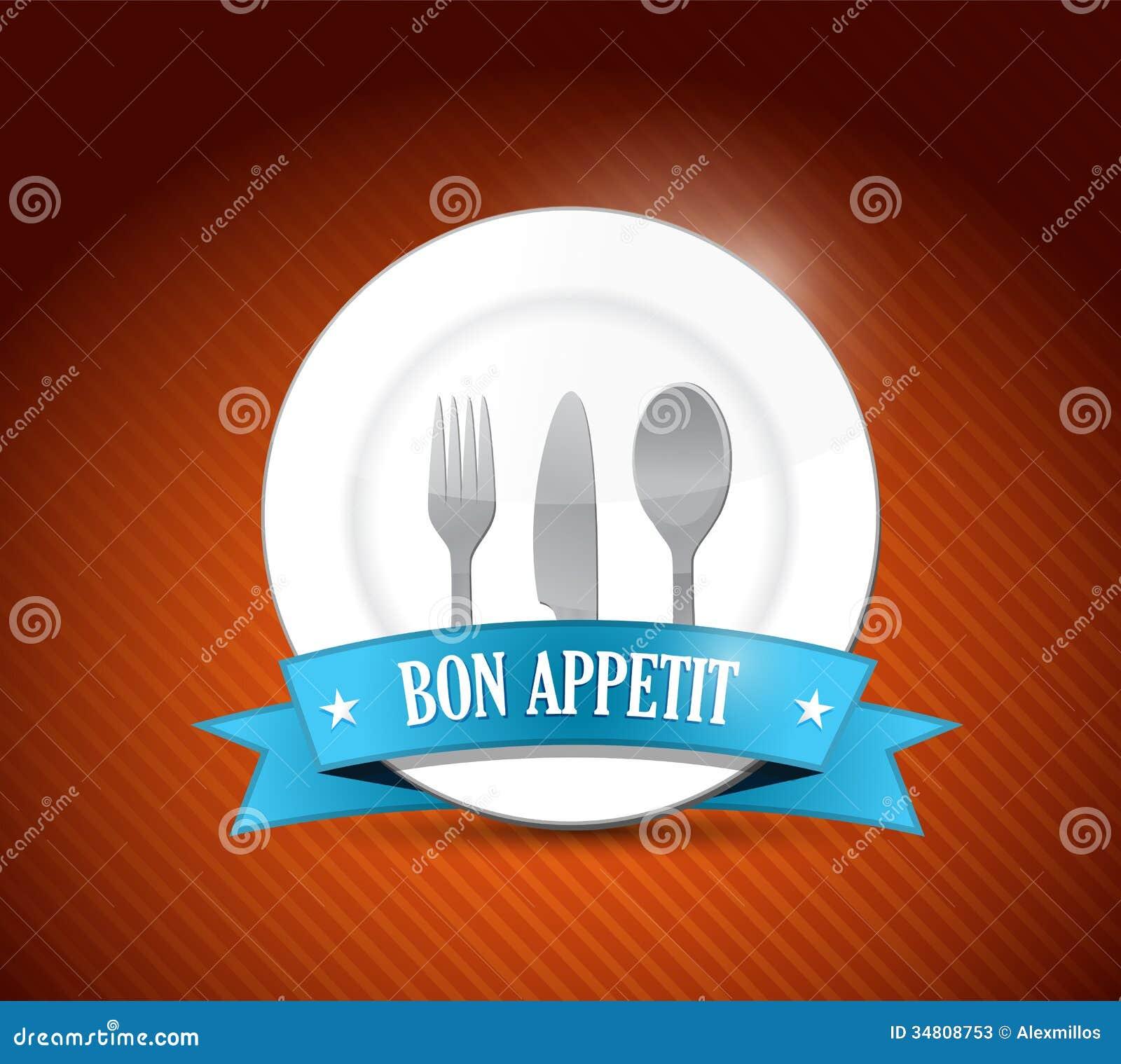 bon appetit restaurant design illustration design stock photos image 34808753. Black Bedroom Furniture Sets. Home Design Ideas