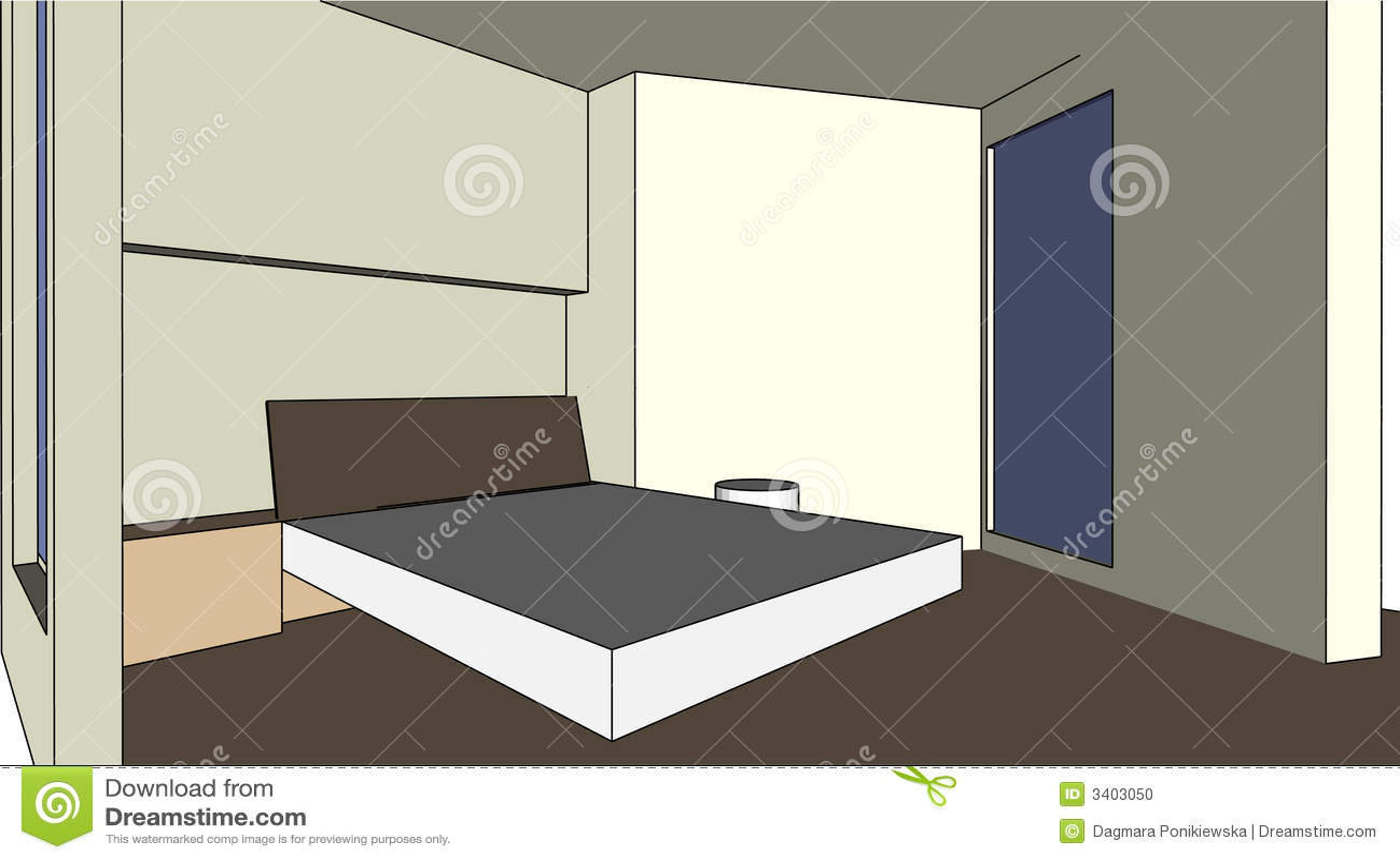 Bon chambre à coucher-bon rêve