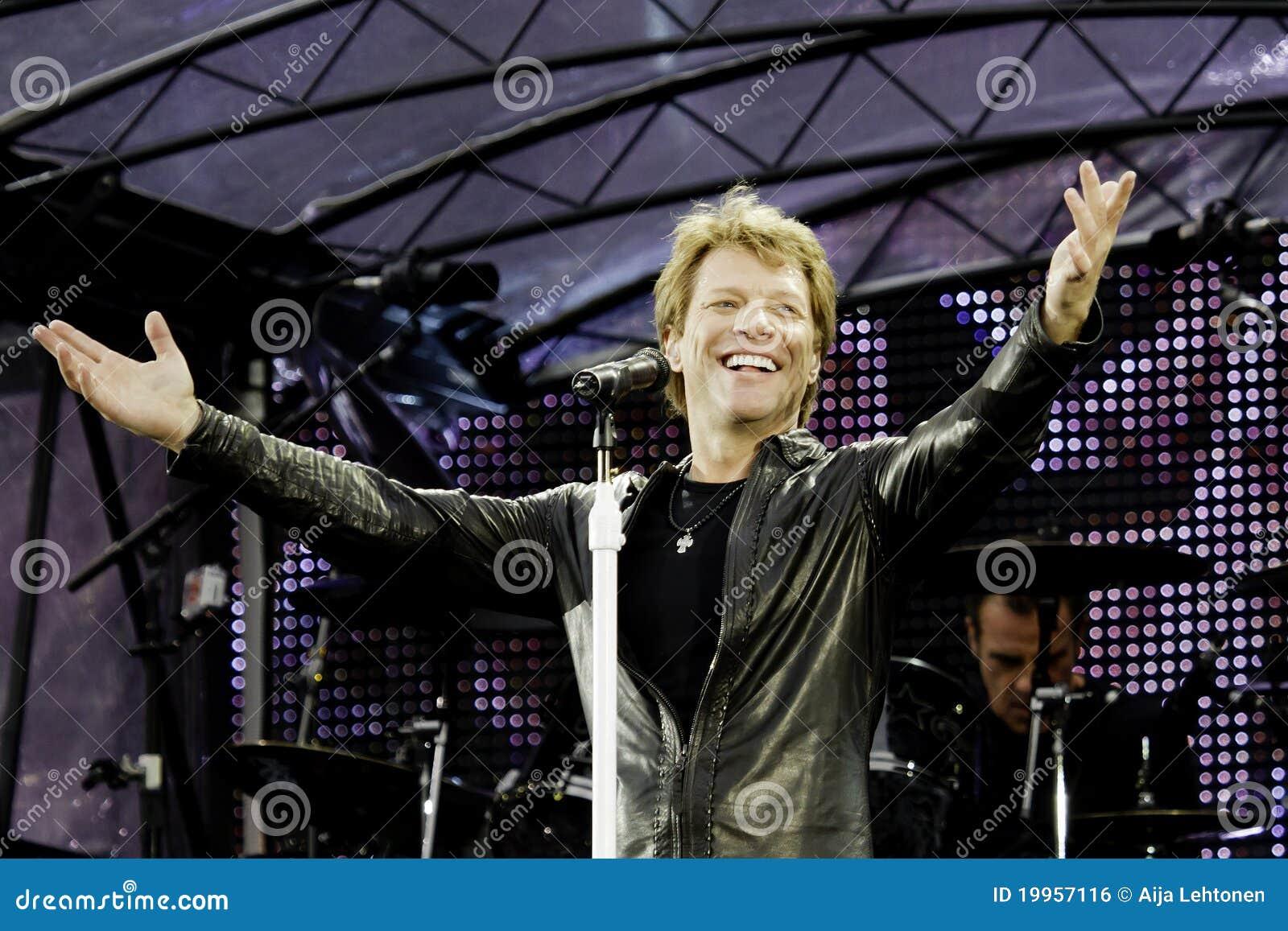 Bon Jovi leeft de Reis van 2011