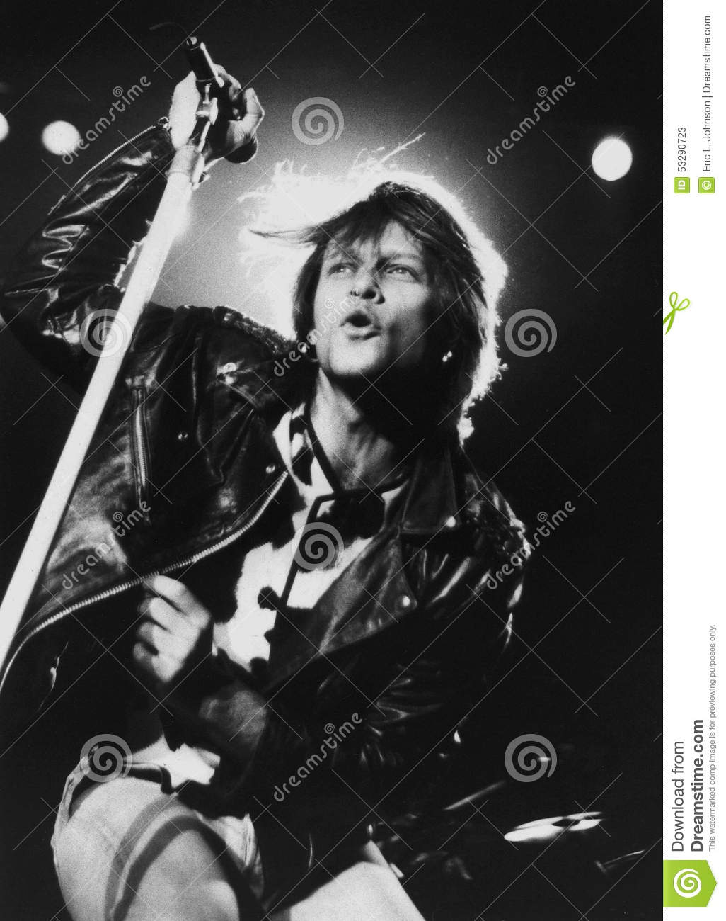 Bon Jovi - Prestaties bij het Centrum in Worcester, Ma 1994 door Eric L Johnson Photography