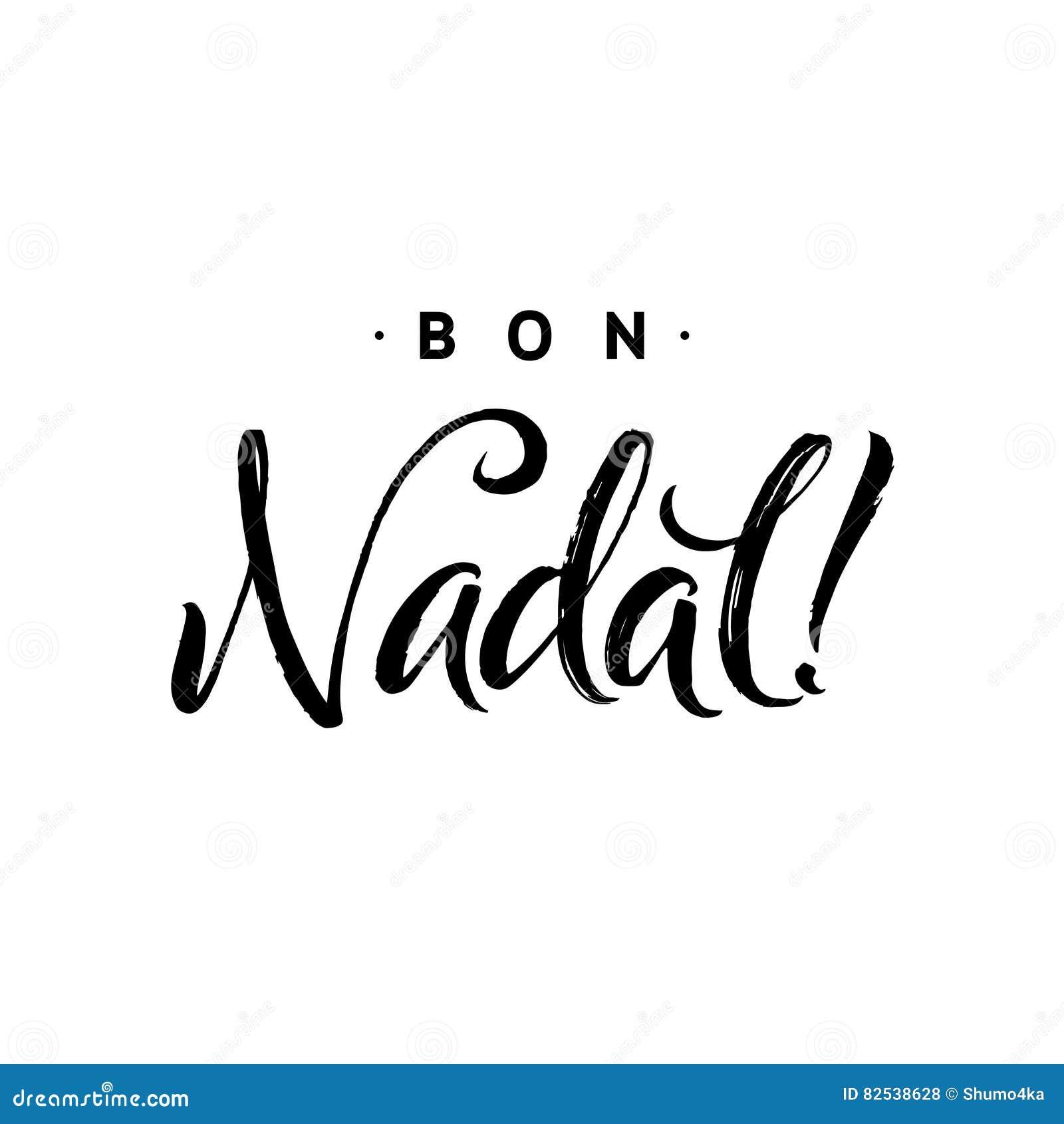 Schablone Frohe Weihnachten.Bon Nadal Frohe Weihnacht Kalligraphie Schablone Auf Katalanisch