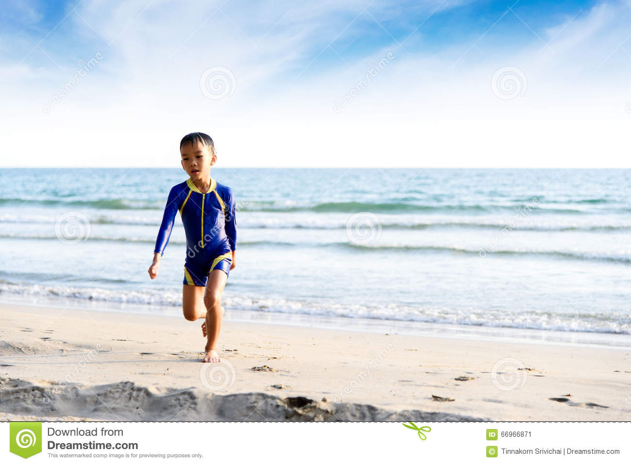 148eb55ec9 Bon run on the beach stock image. Image of young, child - 66966871