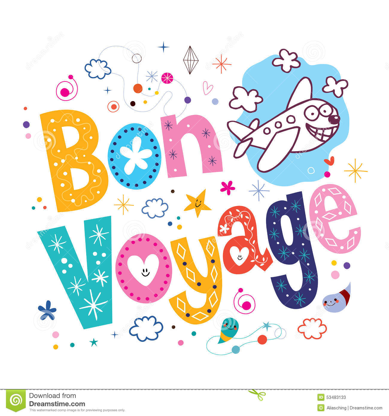 Bon Voyage Royalty Free Stock Photography - Image: 20802987