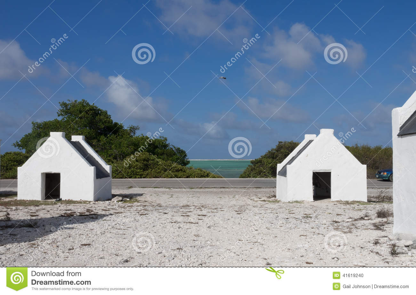 Bonaire - casas do escravo