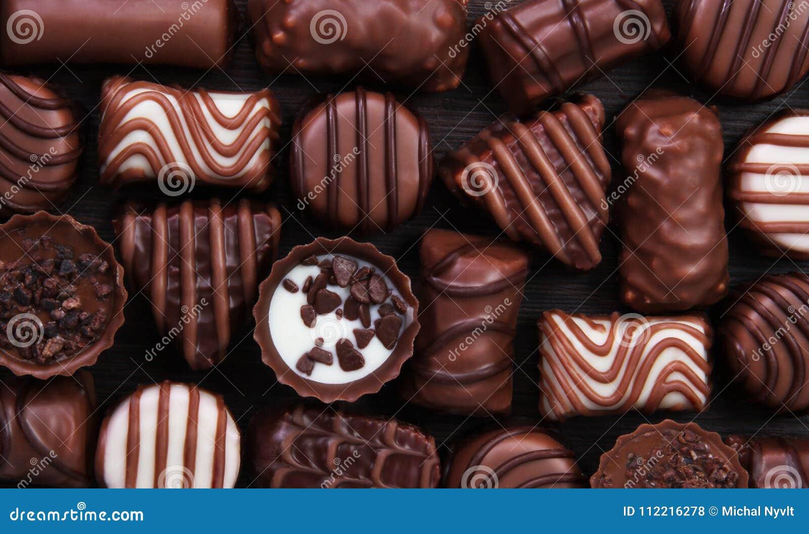 Bonbonpralinenschokolade