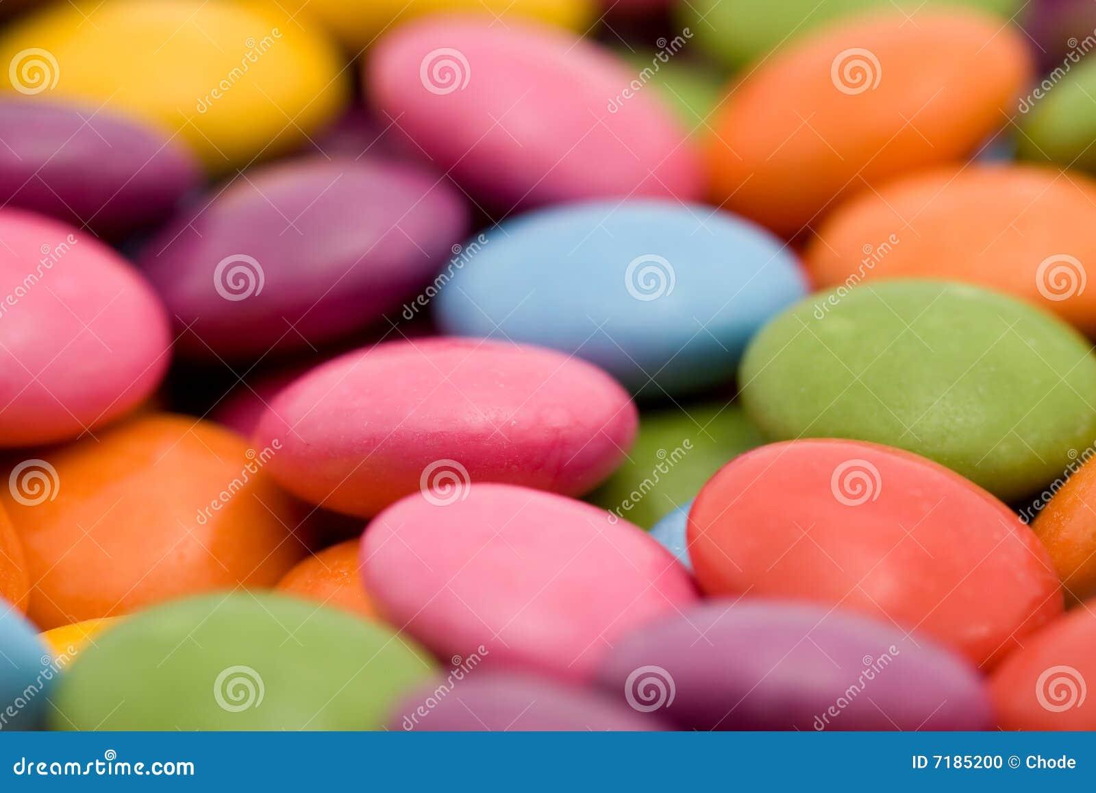 Bonbons που χρωματίζονται
