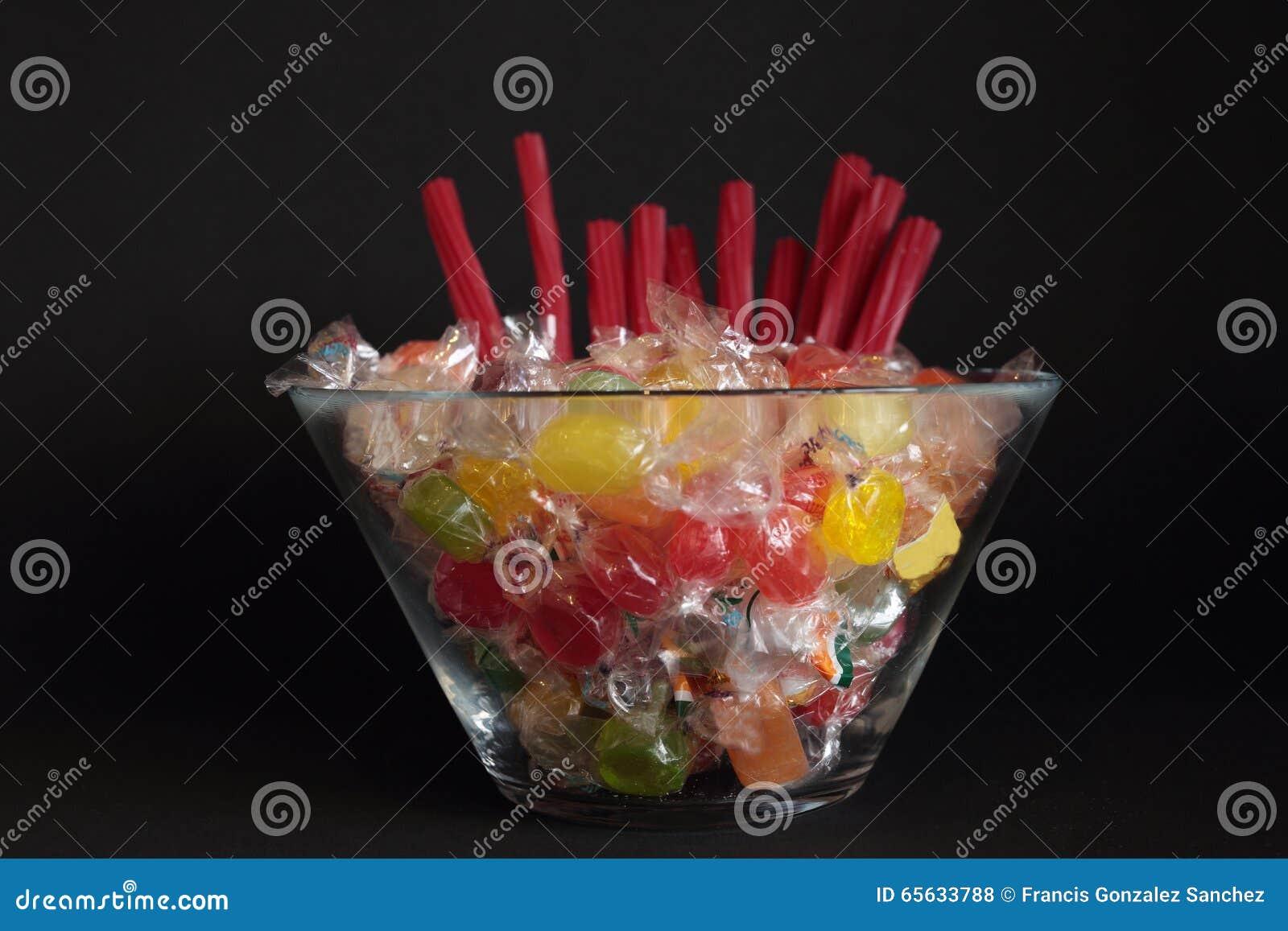 Bonbons de diverses saveurs