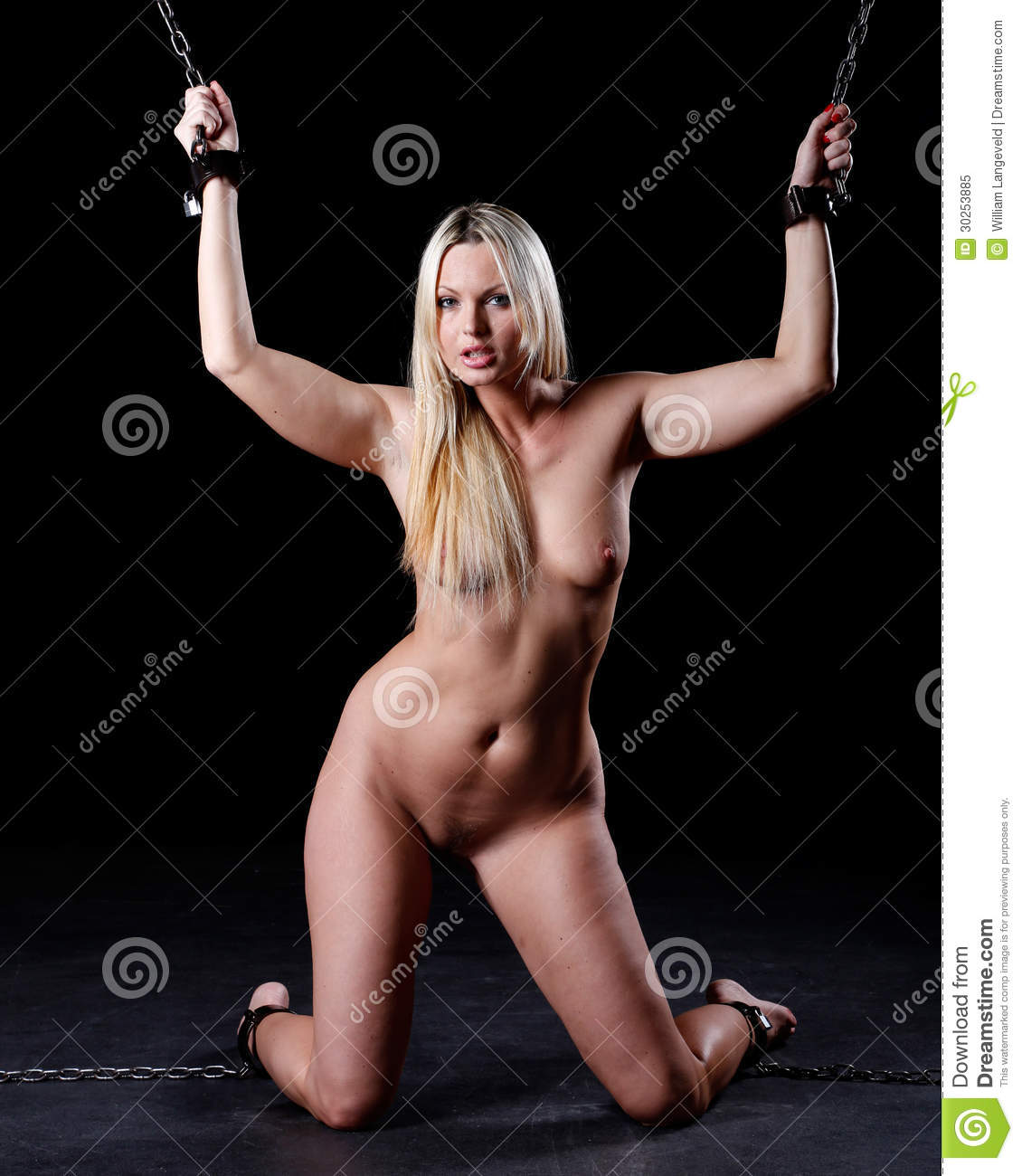 Nude women in shackles — img 12