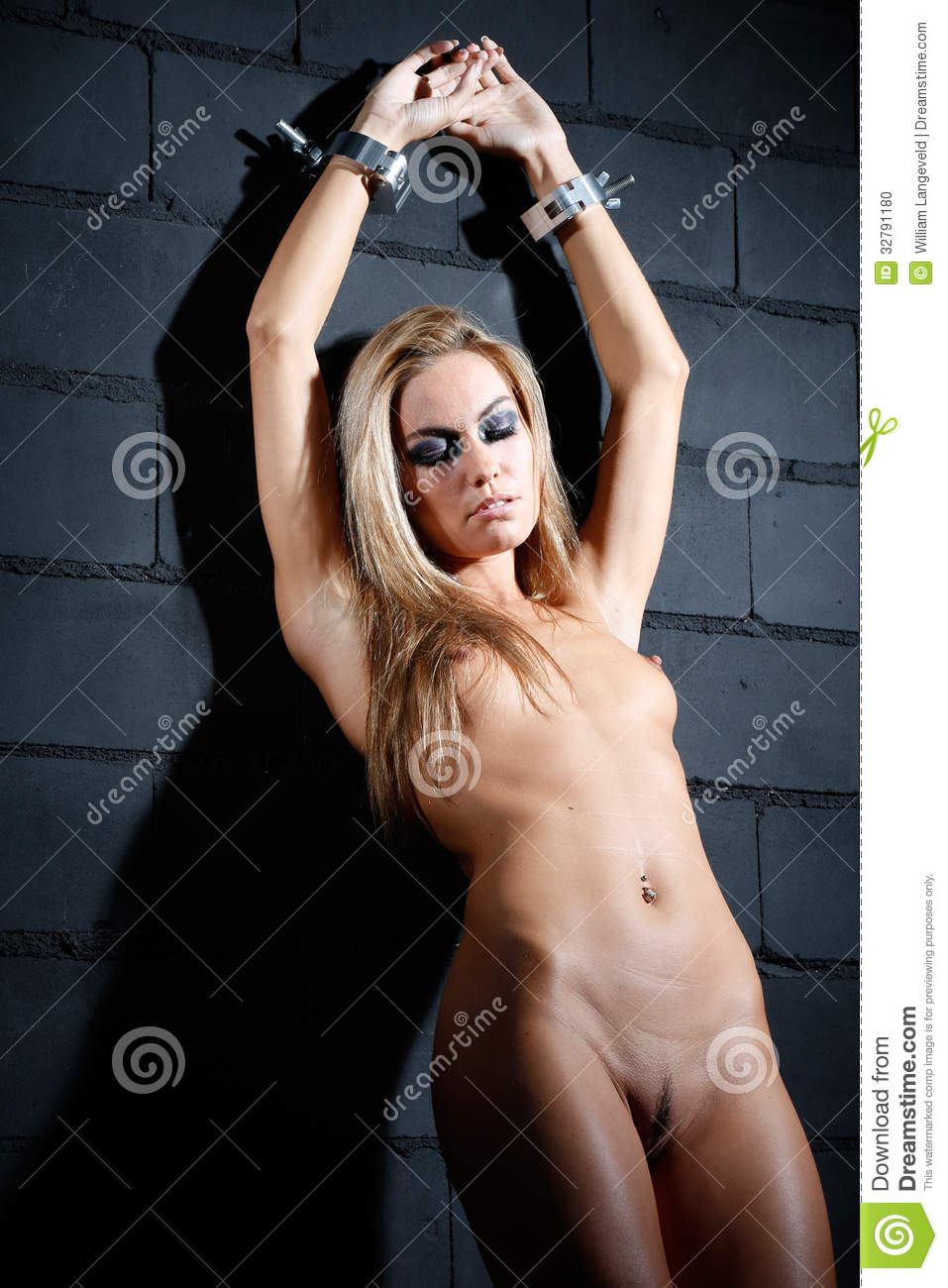 Bondage Style Naked Woman Stock Photo Image Of Prison -5838