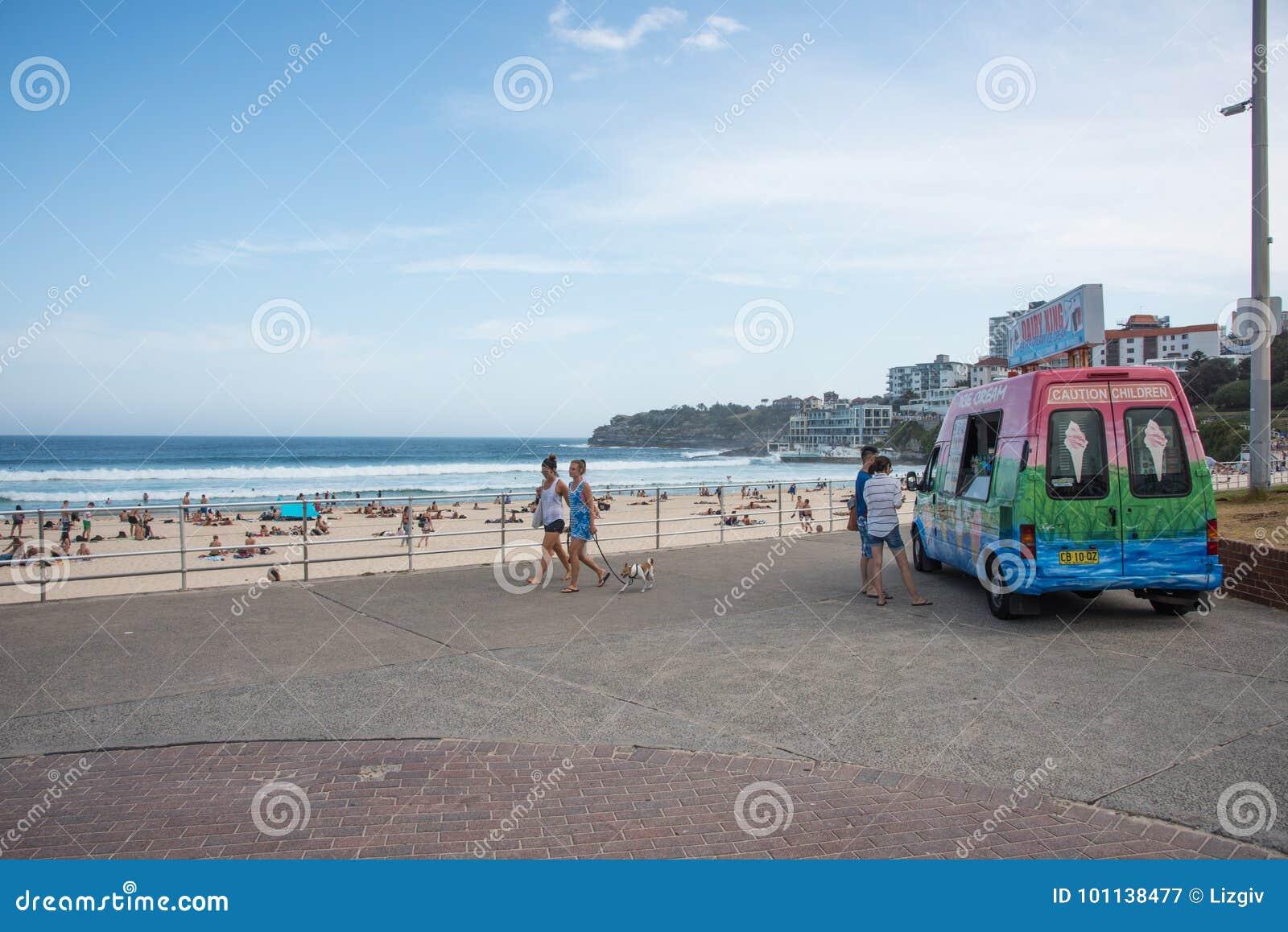 Bondi Beach Ice-Cream Break