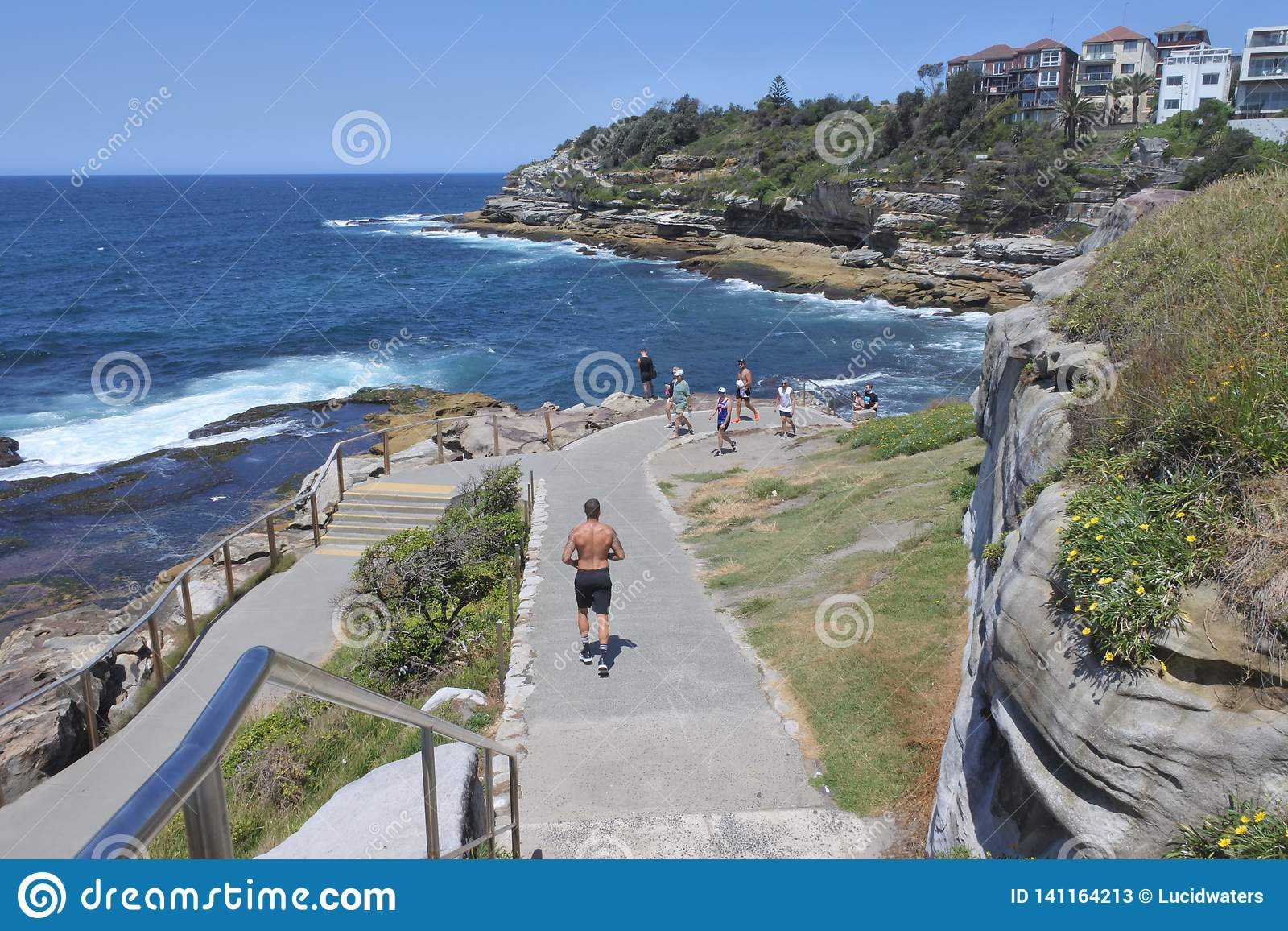 Bondi Coogee spaceru Sydney Nowe południowe walie Australia