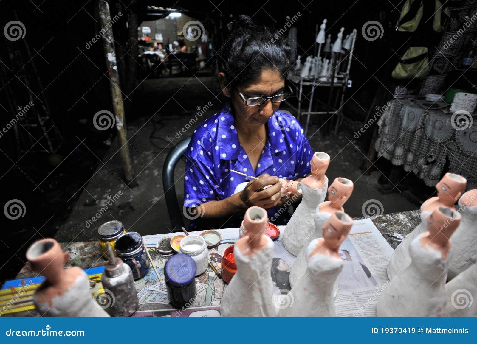 Bonecas tradicionais de pintura