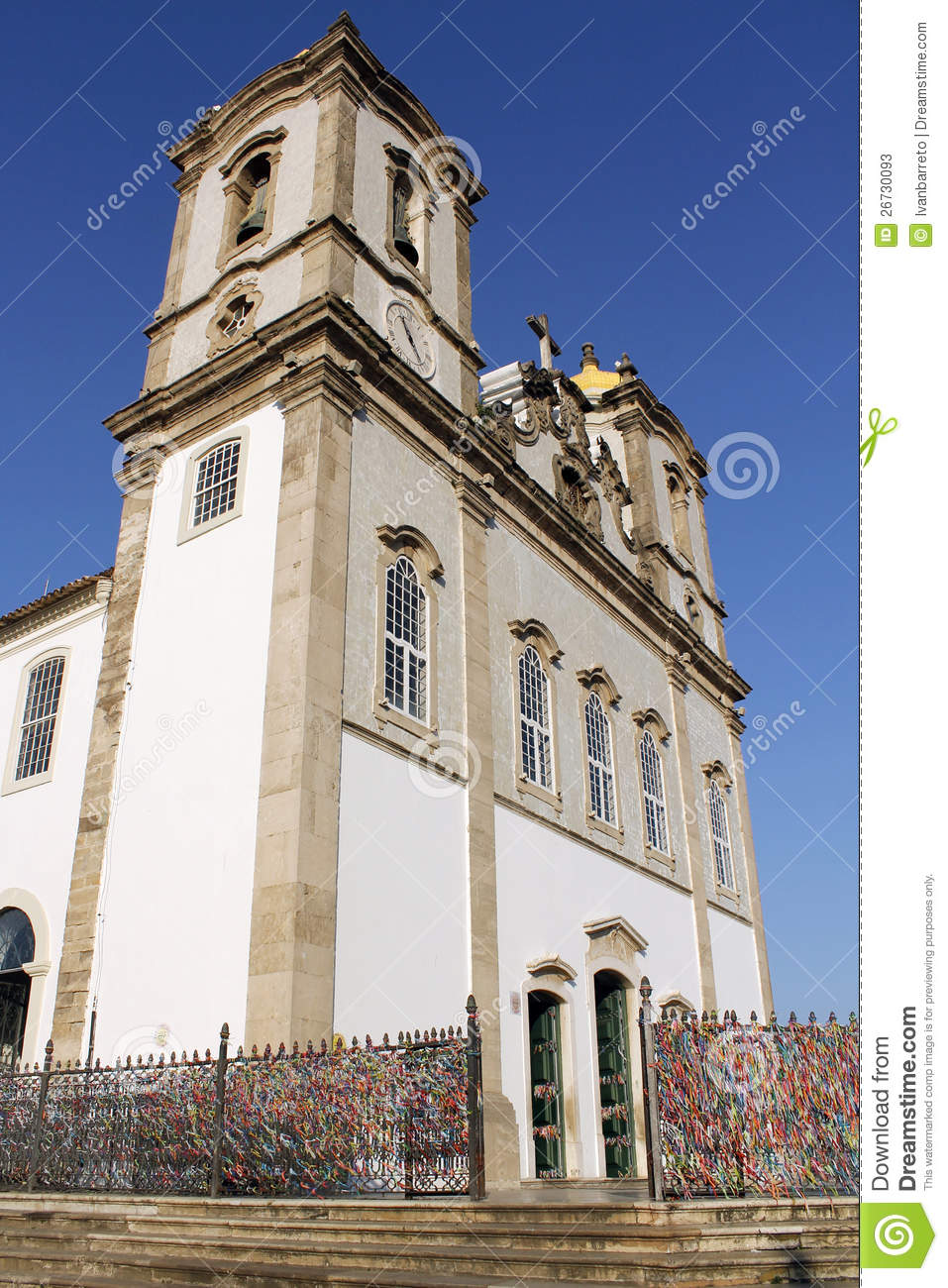 Bonfim Church in Salvador da Bahia, Brazil