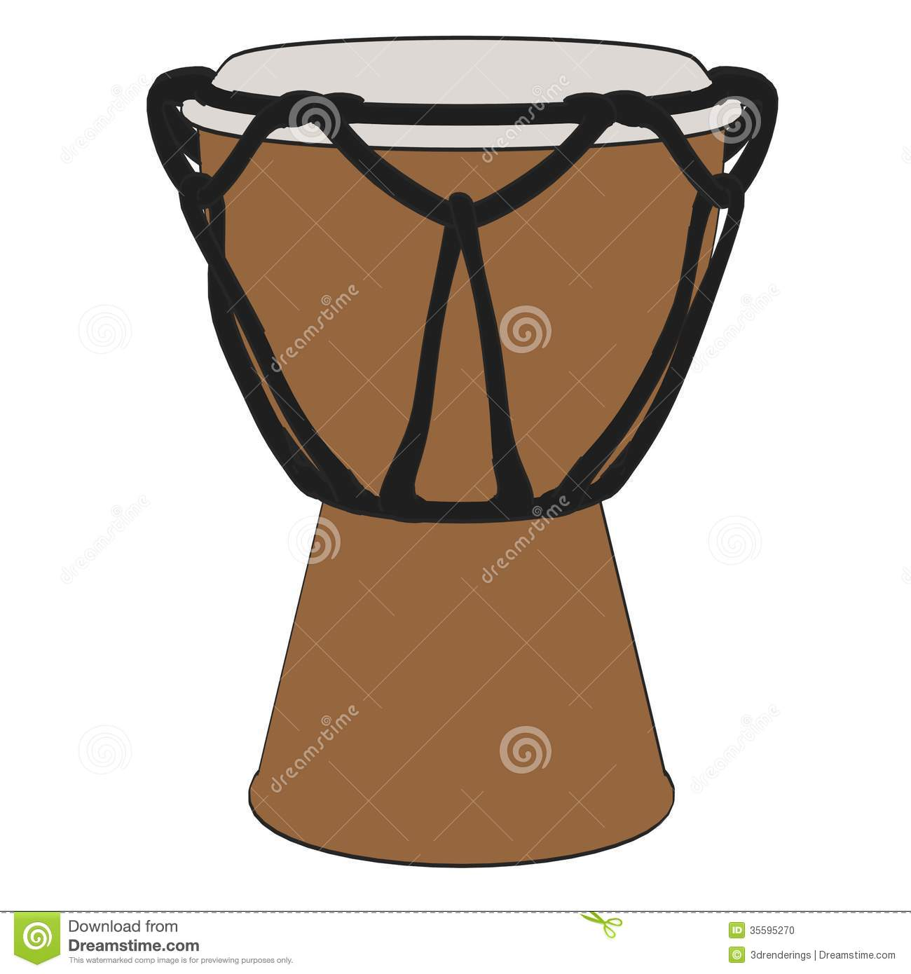 Bongo Drum Stock Photo - Image: 35595270