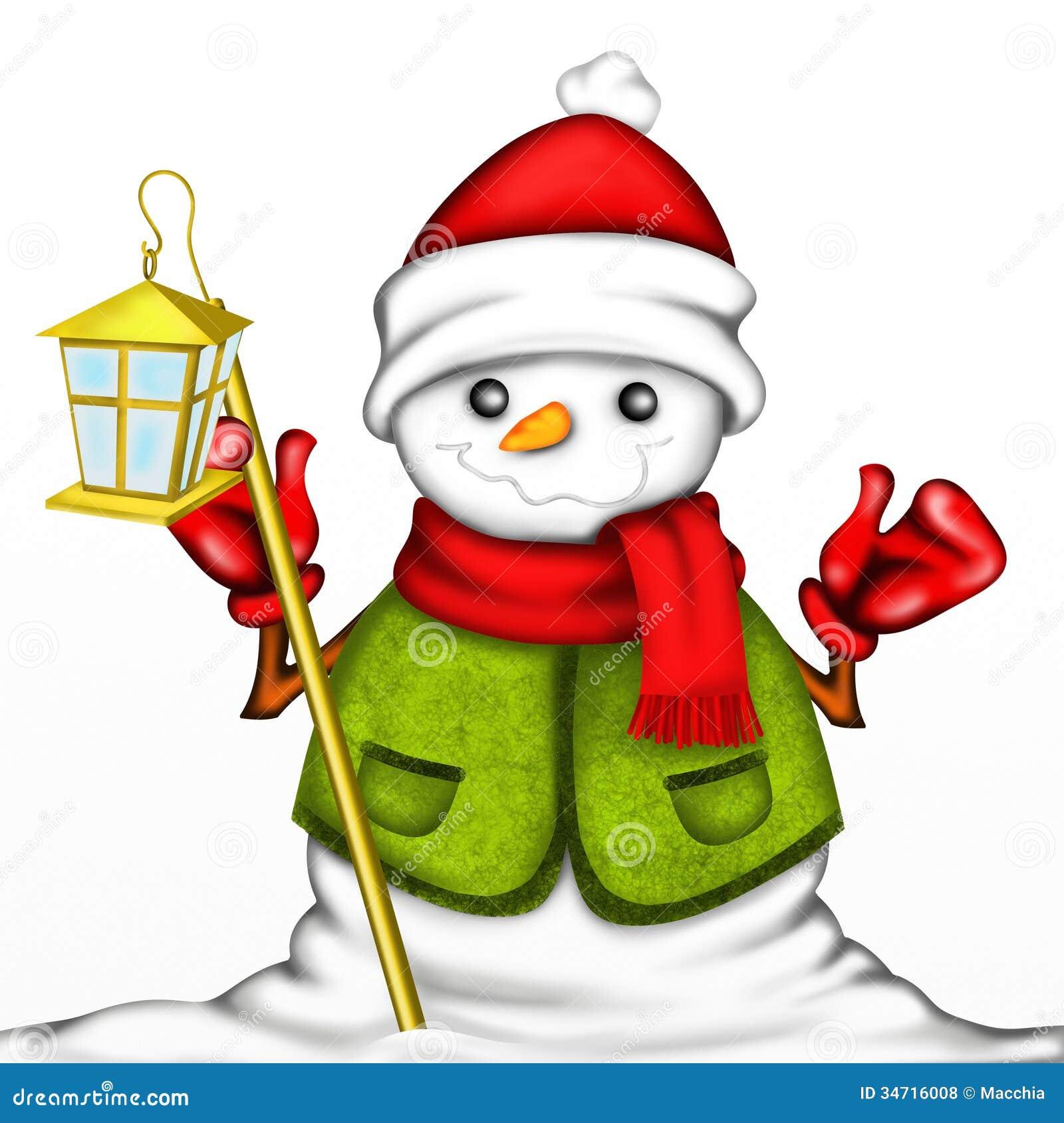 Bonhomme de neige avec le chapeau rouge photos libres de - Chapeau bonhomme de neige ...