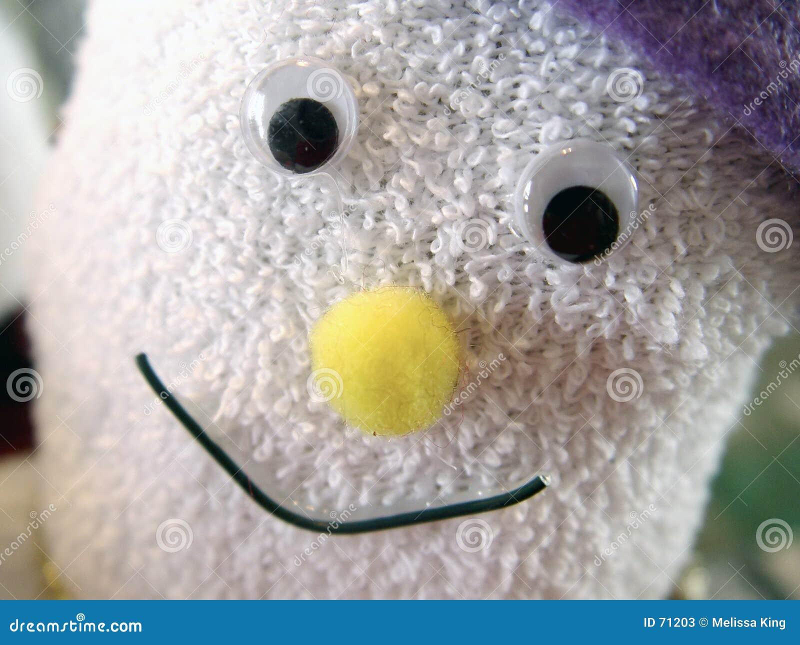 bonhomme de neige de chaussette image stock - image du objets