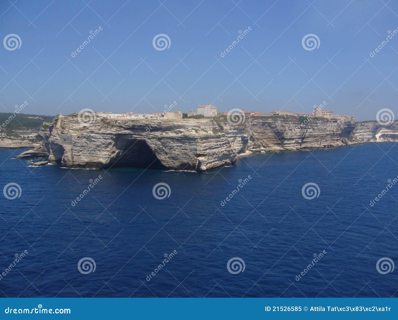 Bonifacio可西嘉岛