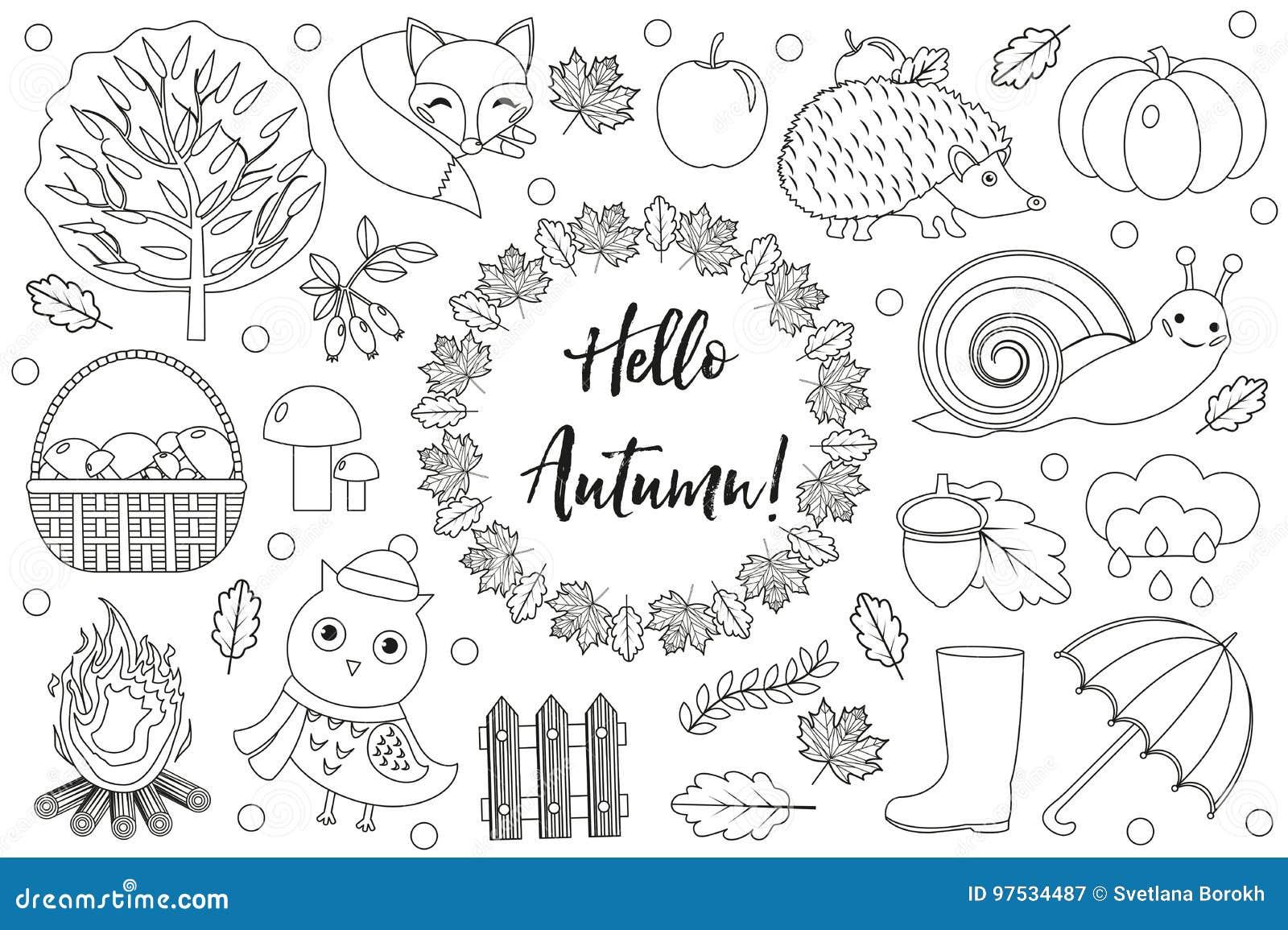 bonjour les ic nes d 39 automne ont plac le croquis dessin. Black Bedroom Furniture Sets. Home Design Ideas