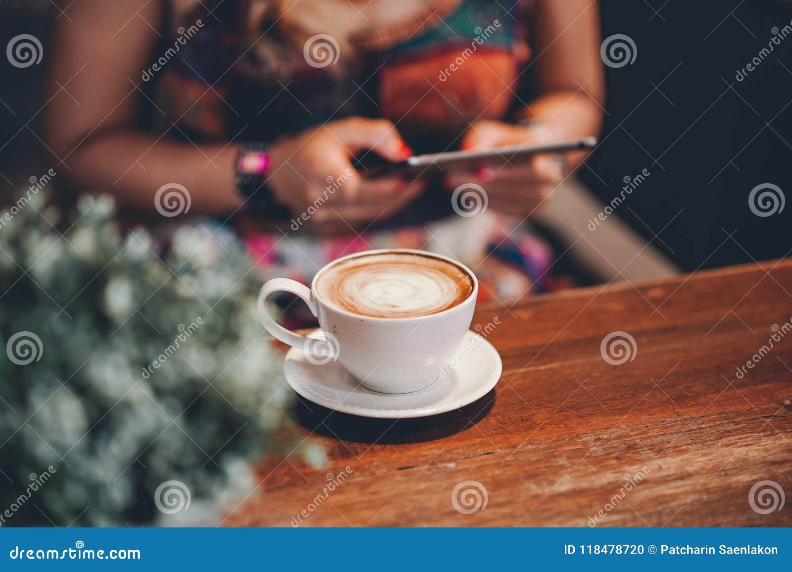 Bonjour Pendant Le Matin Avec Du Café Aromatique Damour Du