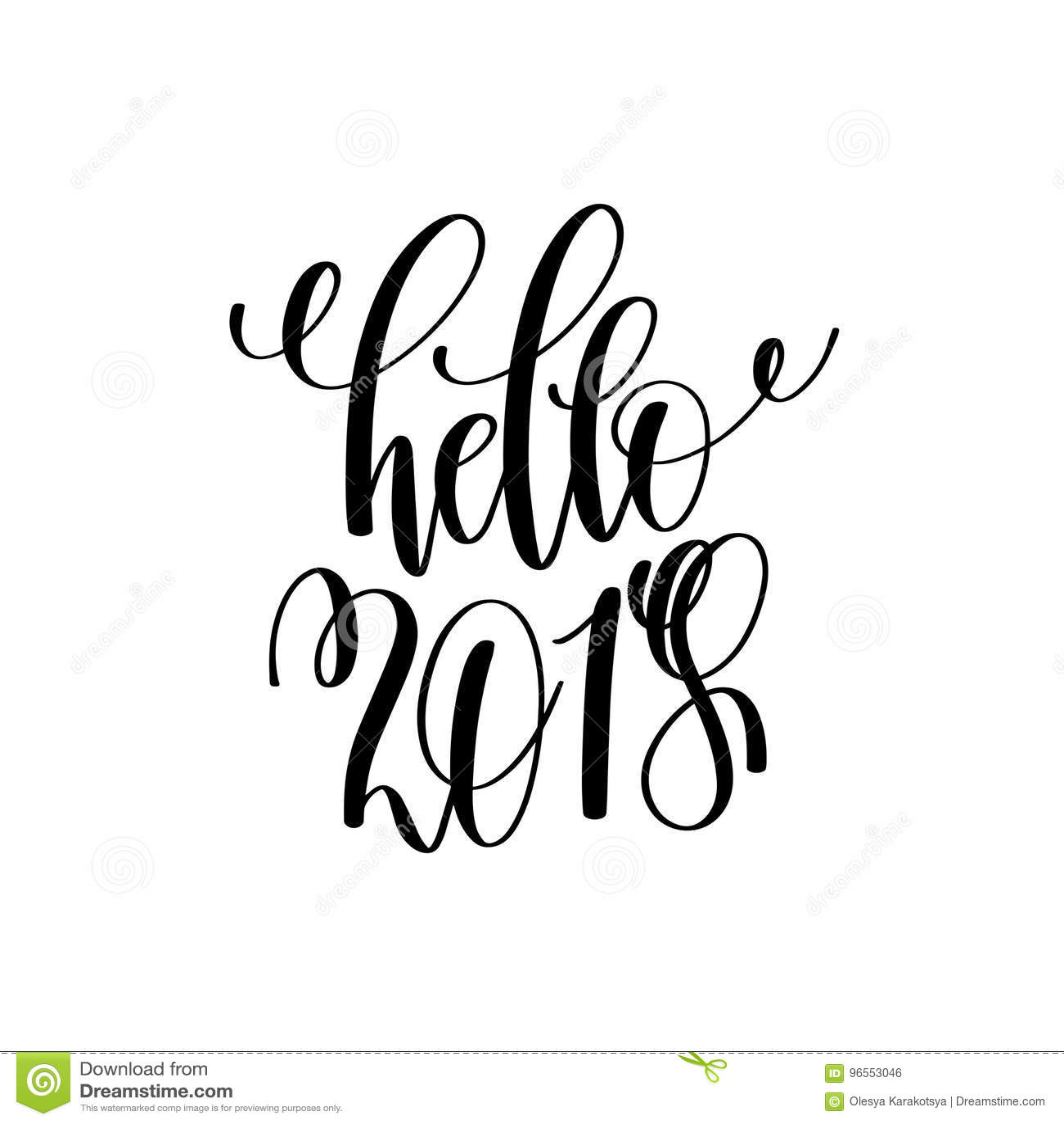 Bonjour 2018 remettent l 39 inscription de lettrage la for Inscription d et co