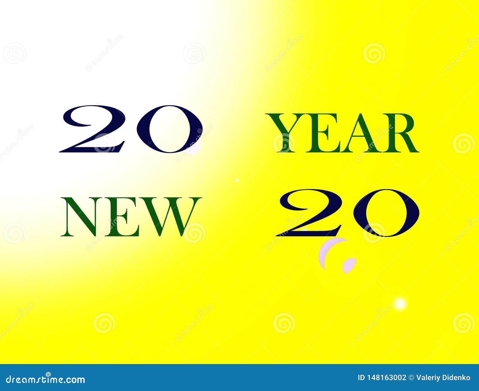 Bonne année d image