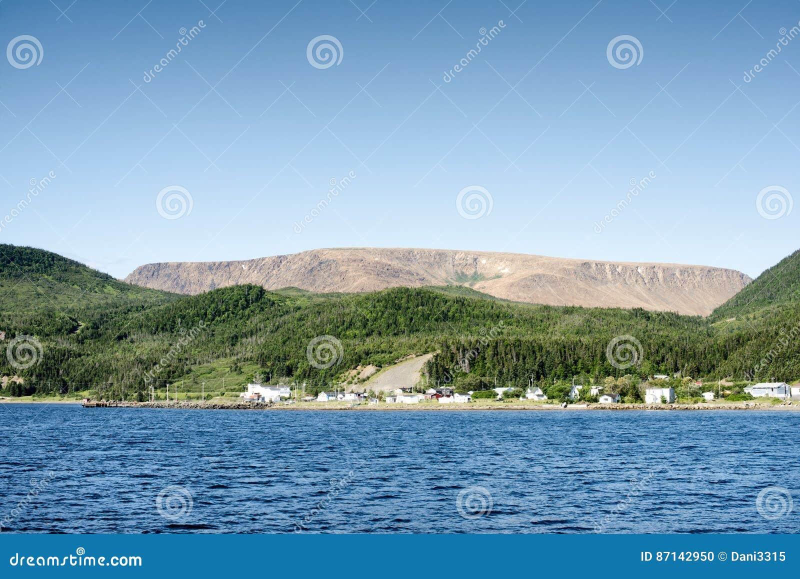 Bonne Bay, Gros Morne National Park, Newfoundland And Labrador